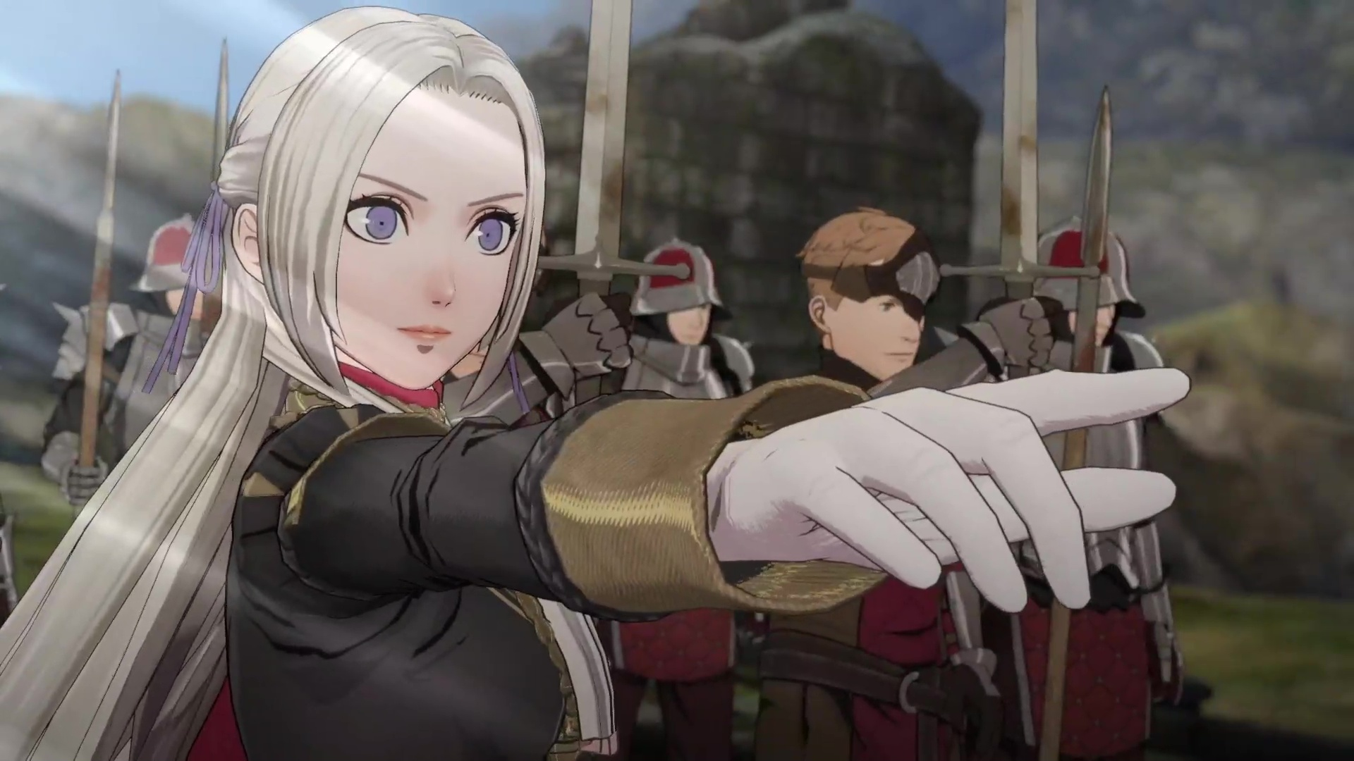 Image result for fire emblem three houses trailer 2