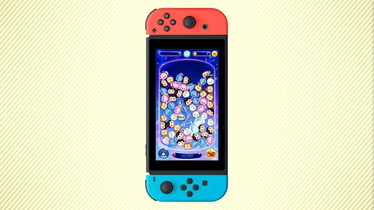 Disney Tsum Tsum for Nintendo Switch looks cute as heck