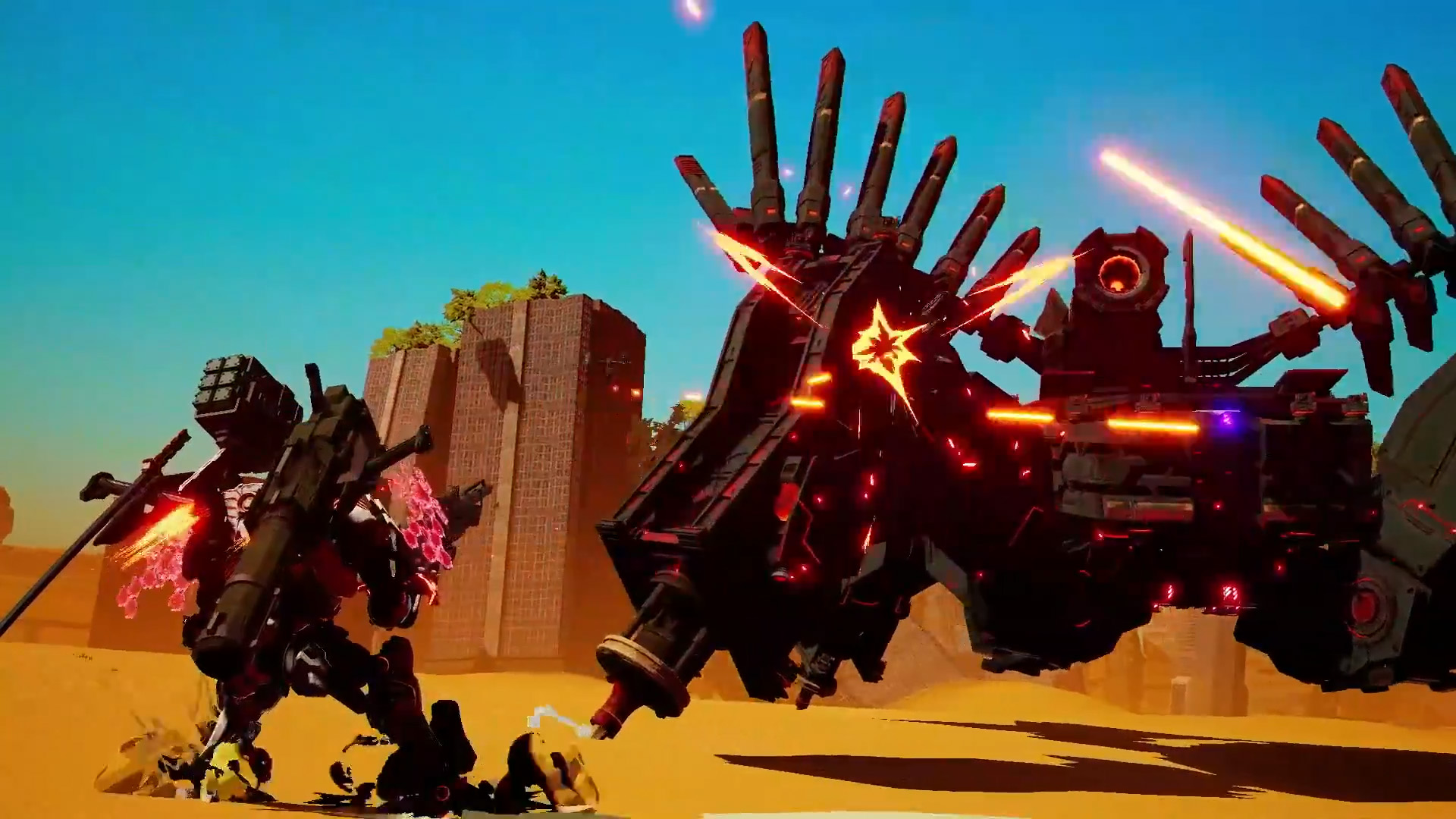 Daemon x Machina getting a free demo for Nintendo Switch today