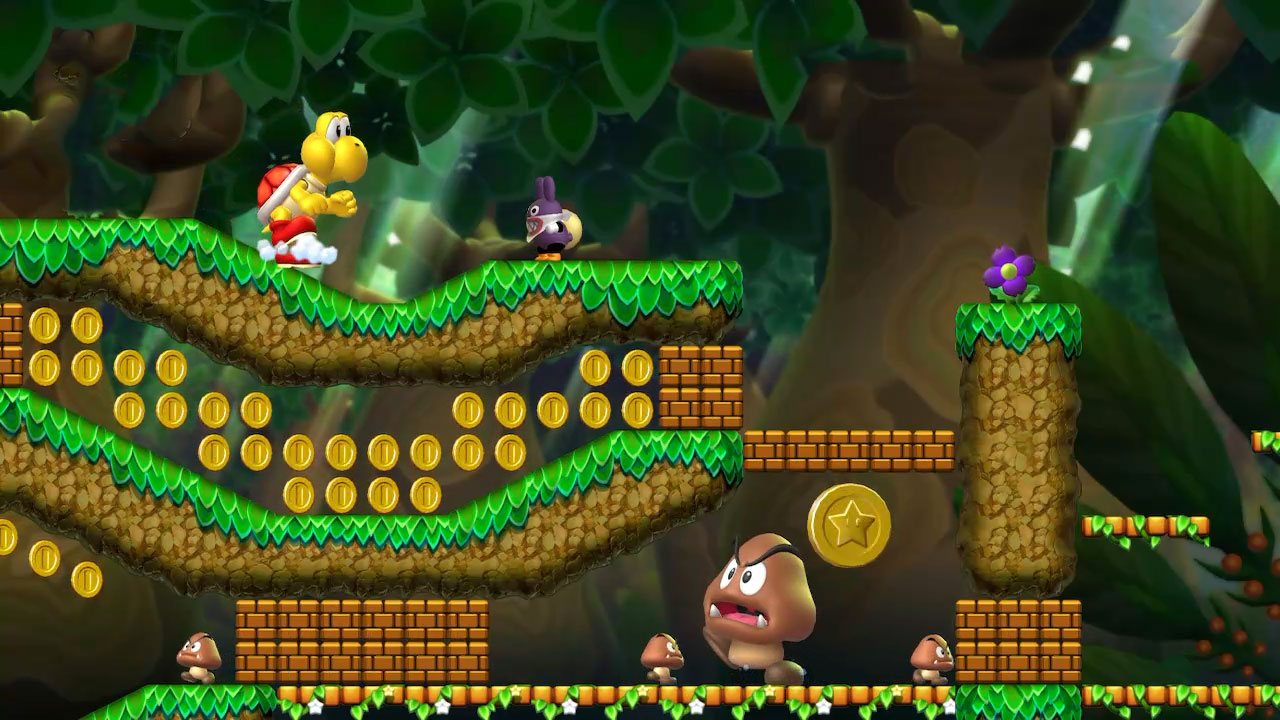 New Super Mario Bros  U Deluxe Star Coins guide - Polygon