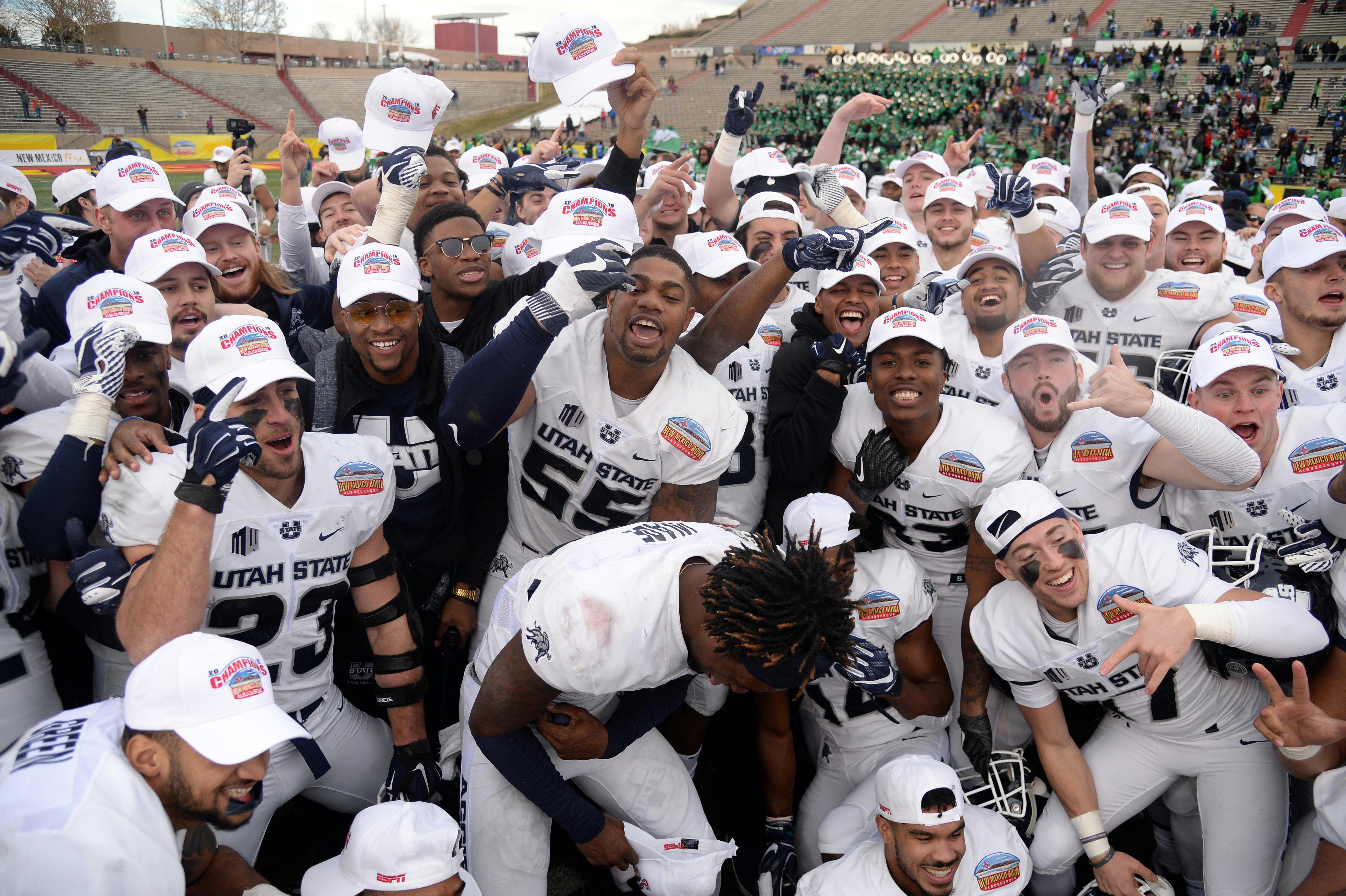 NCAA Football: New Mexico Bowl-North Texas vs Utah State