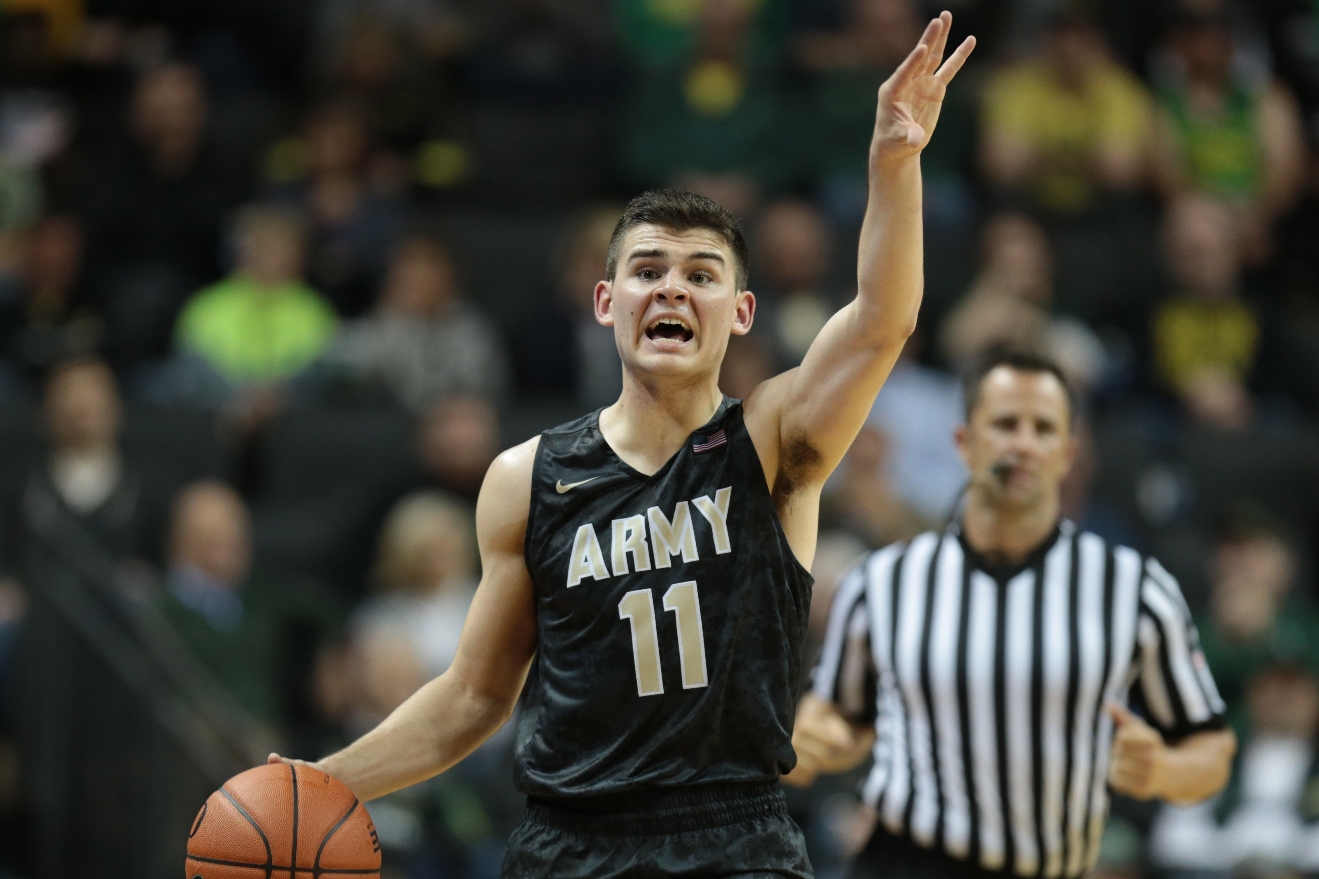 NCAA Basketball: Army at Oregon