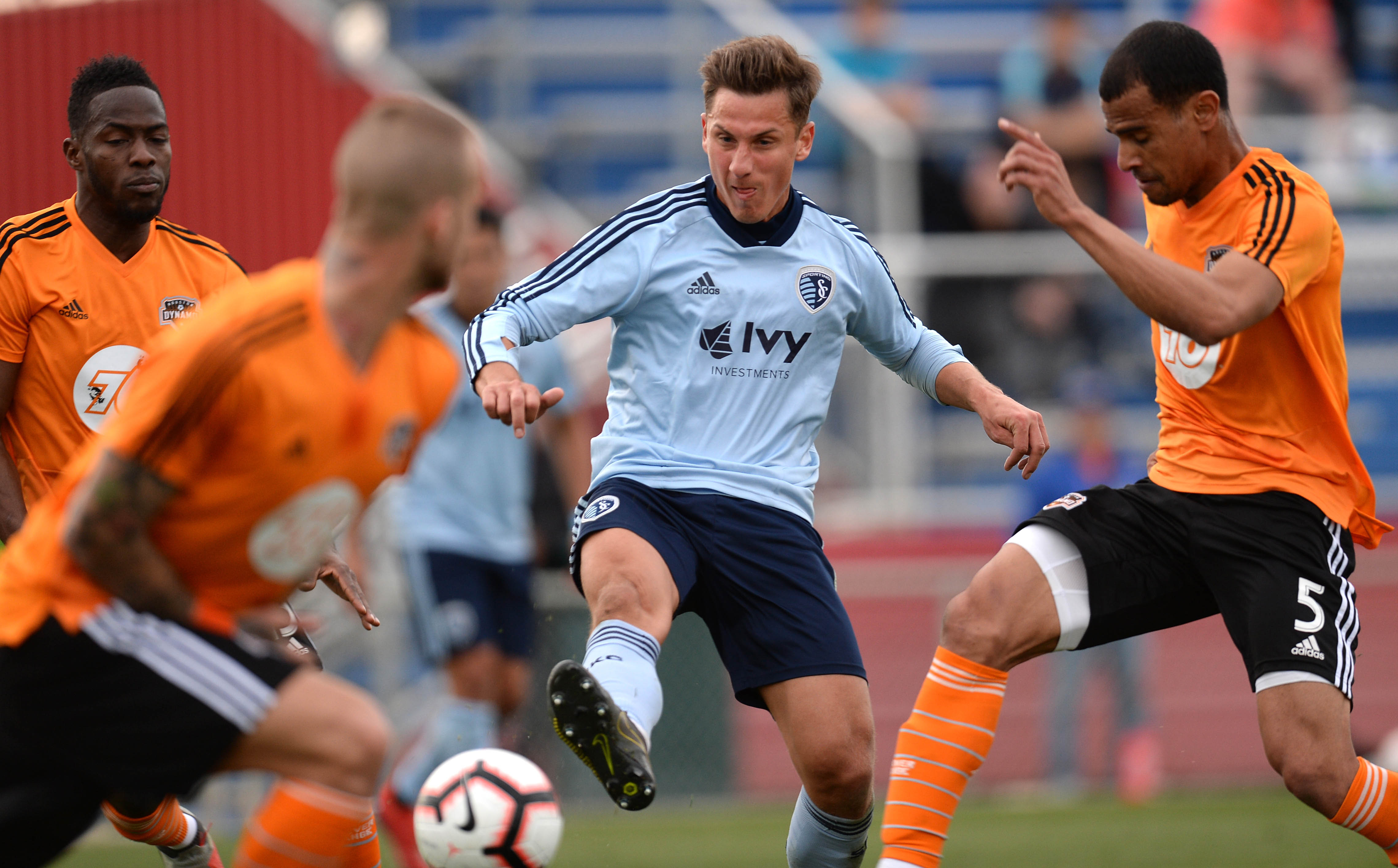 MLS: Mobile Mini Sun Cup-Sporting KC at Houston Dynamo