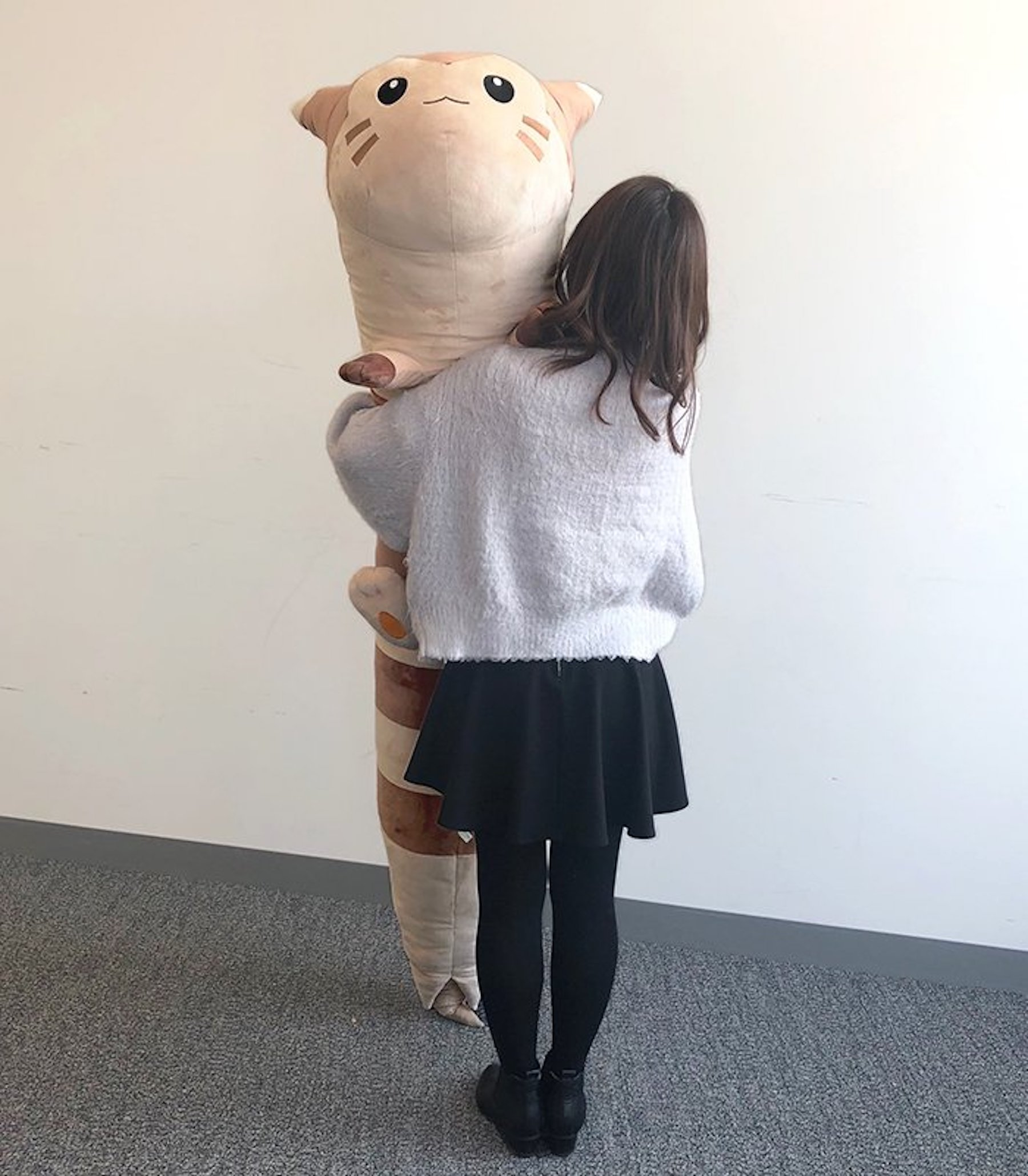 This life-size Furret plush is a horrifying reminder of how big Pokémon are