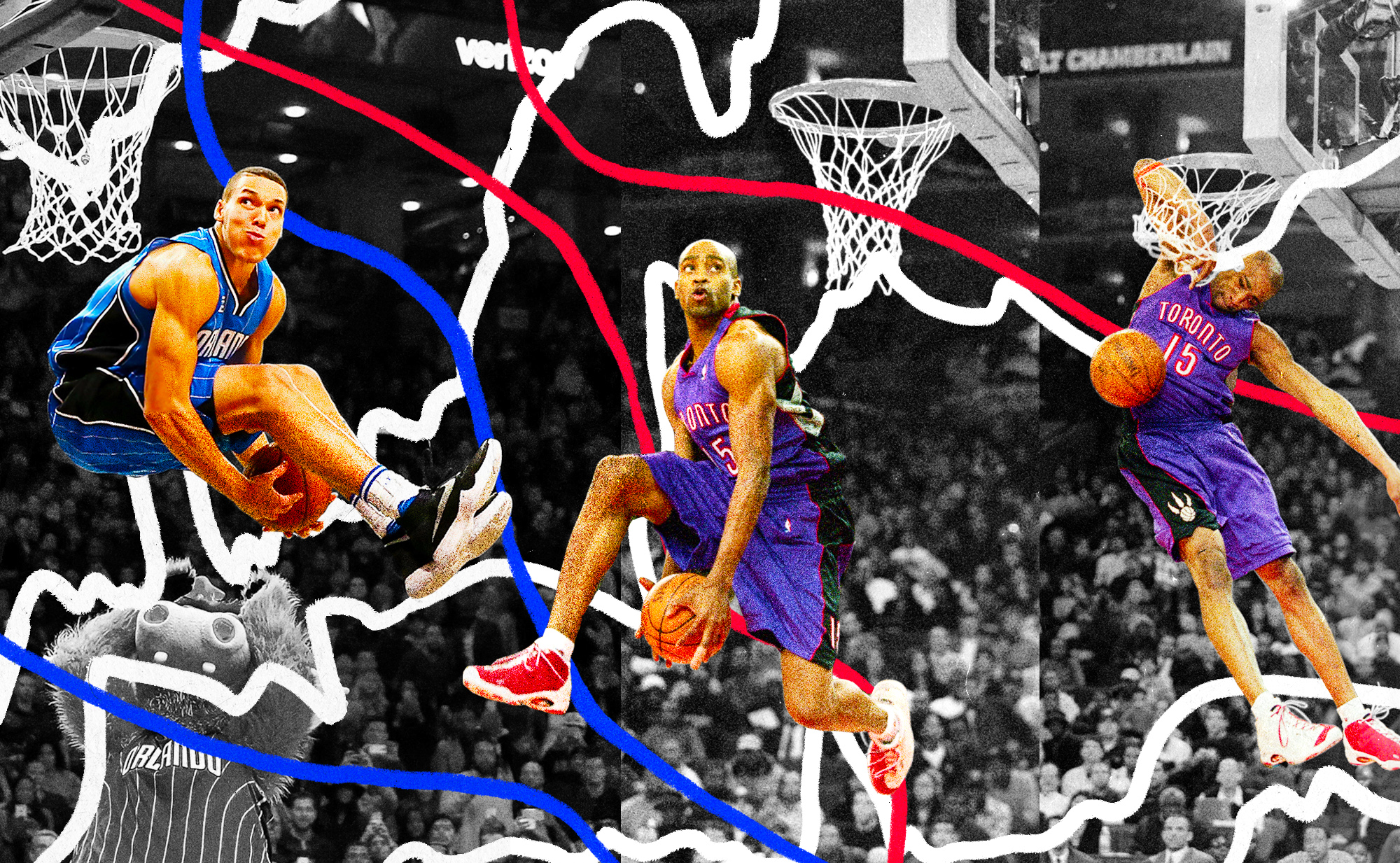 separation shoes 1d711 30a6c NBA Dunk Contests 76 perfect score dunks, ranked - SBNation.