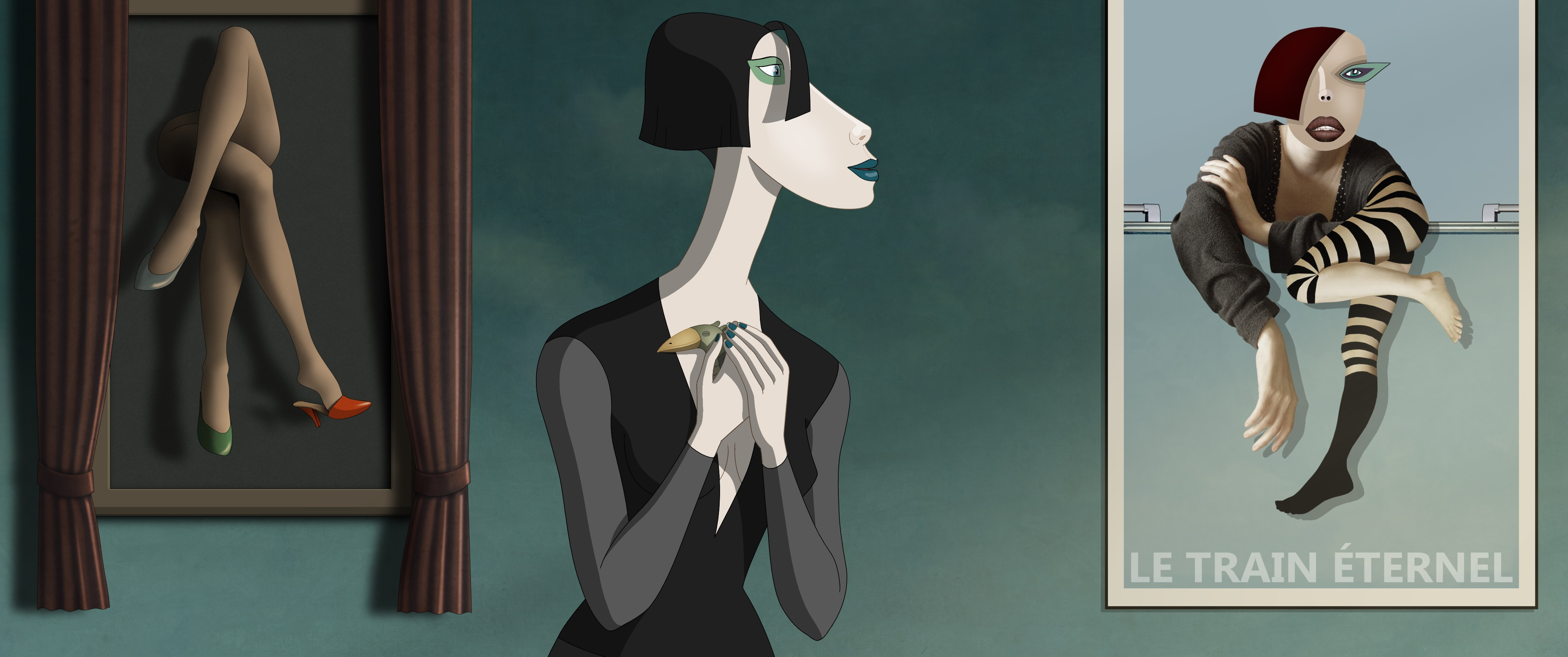How Ruben Brandt, Collector turns fine art into an animated heist movie