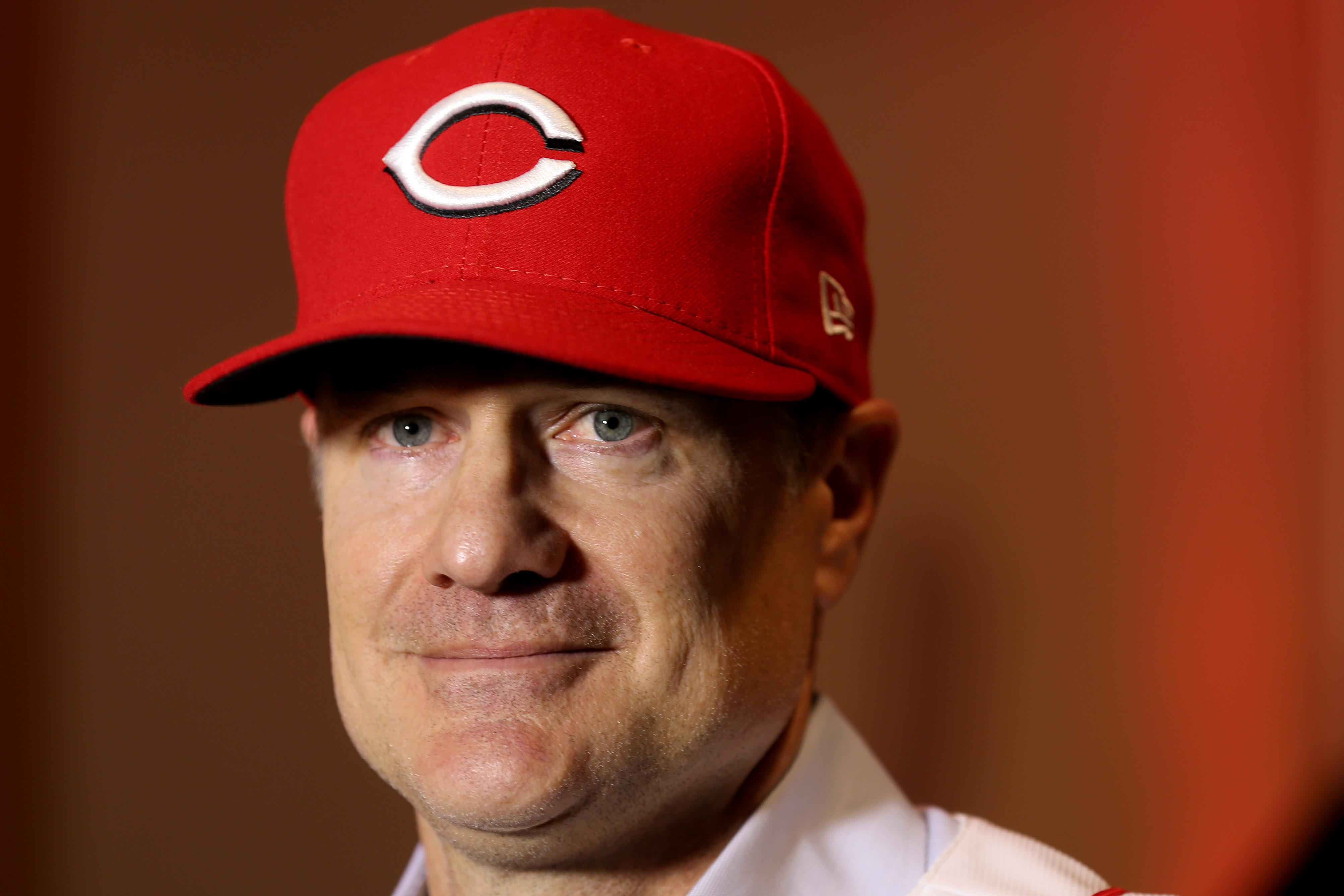 MLB: Cincinnati Reds - Press Conference