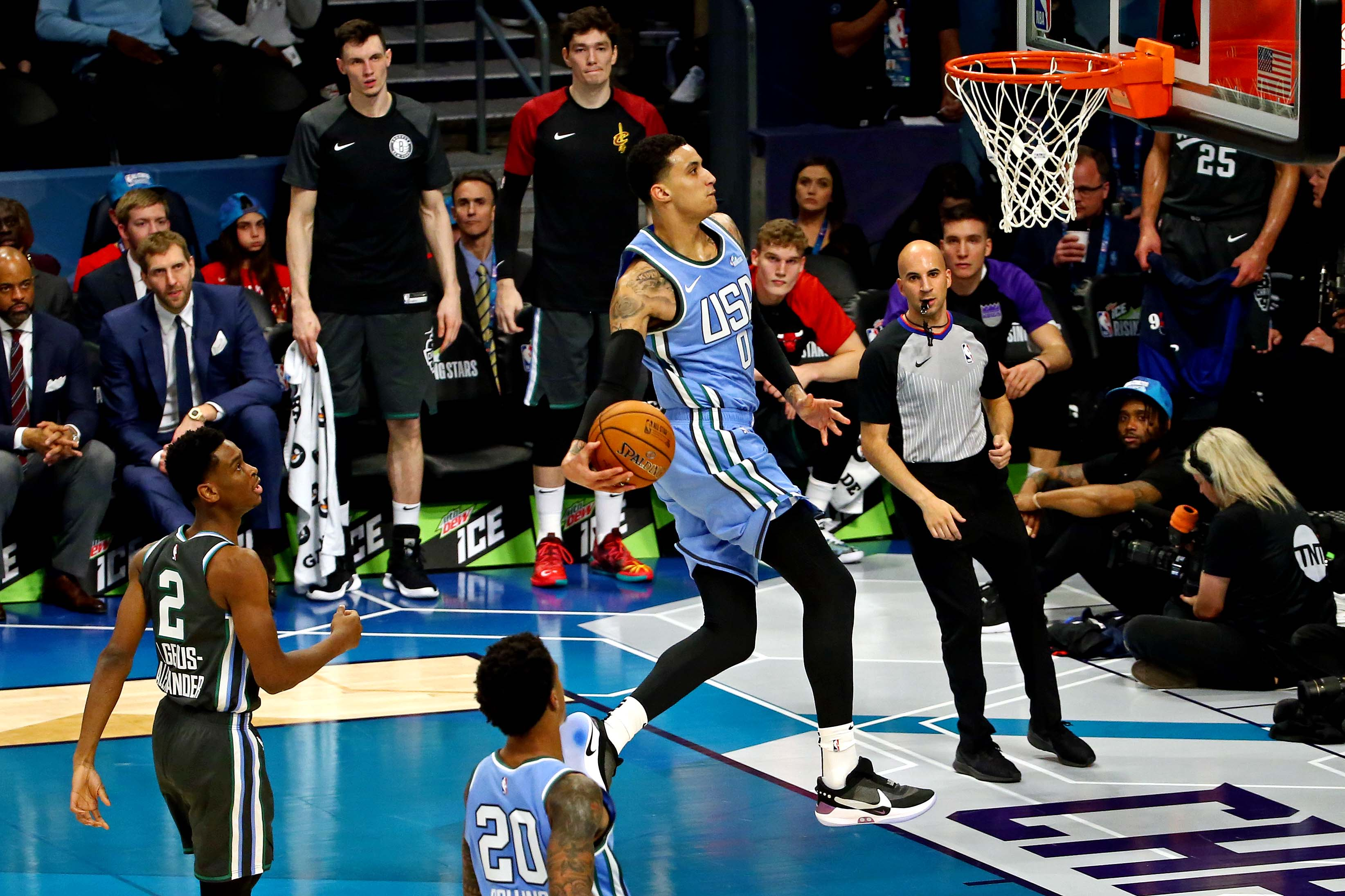 ab78e64b3d7b Kyle Kuzma breaks Kobe Bryant s scoring record for Lakers in Rising Stars  Challenge