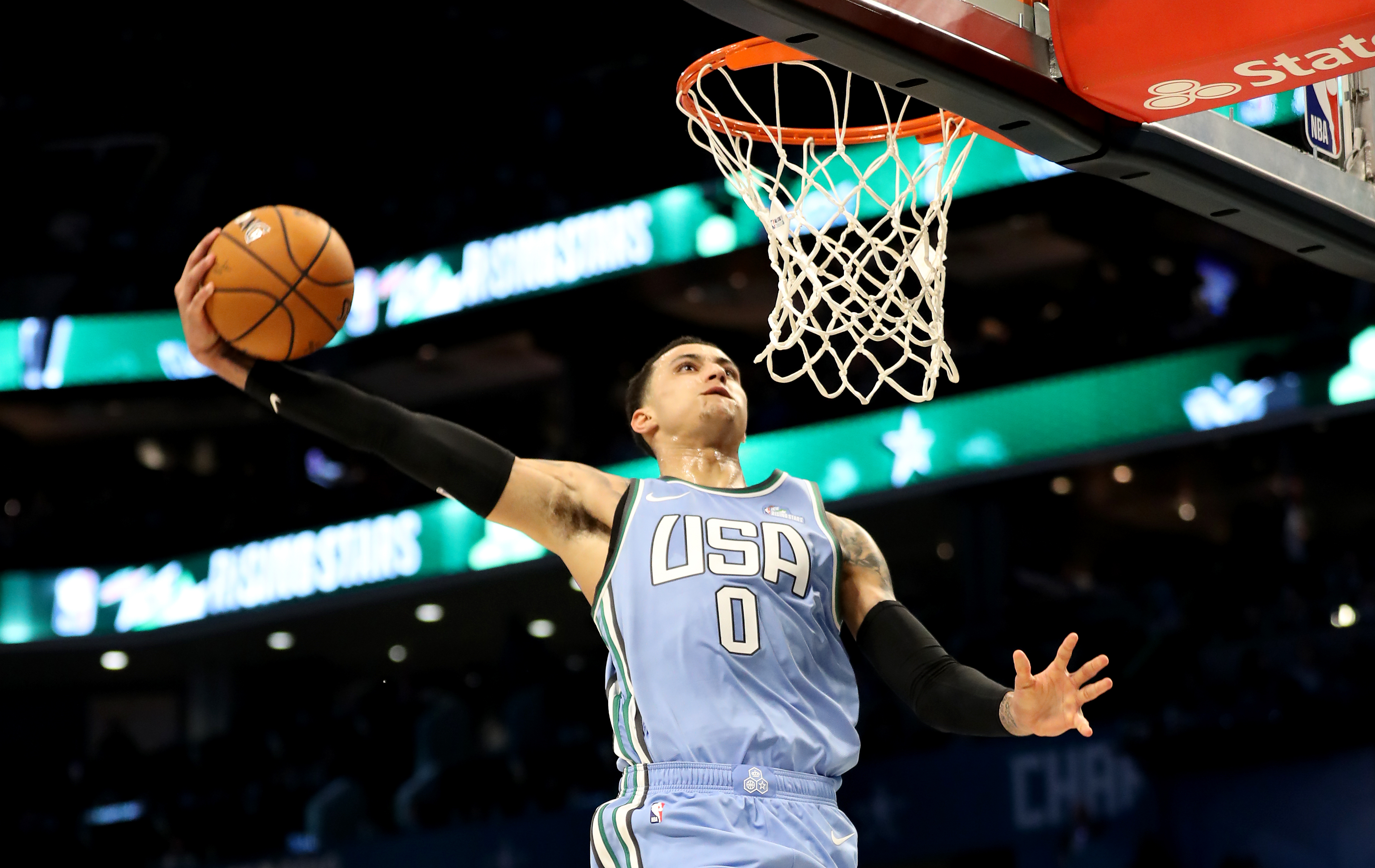 e24ea6f37bf The best dunks from the NBA Rising Stars Challenge