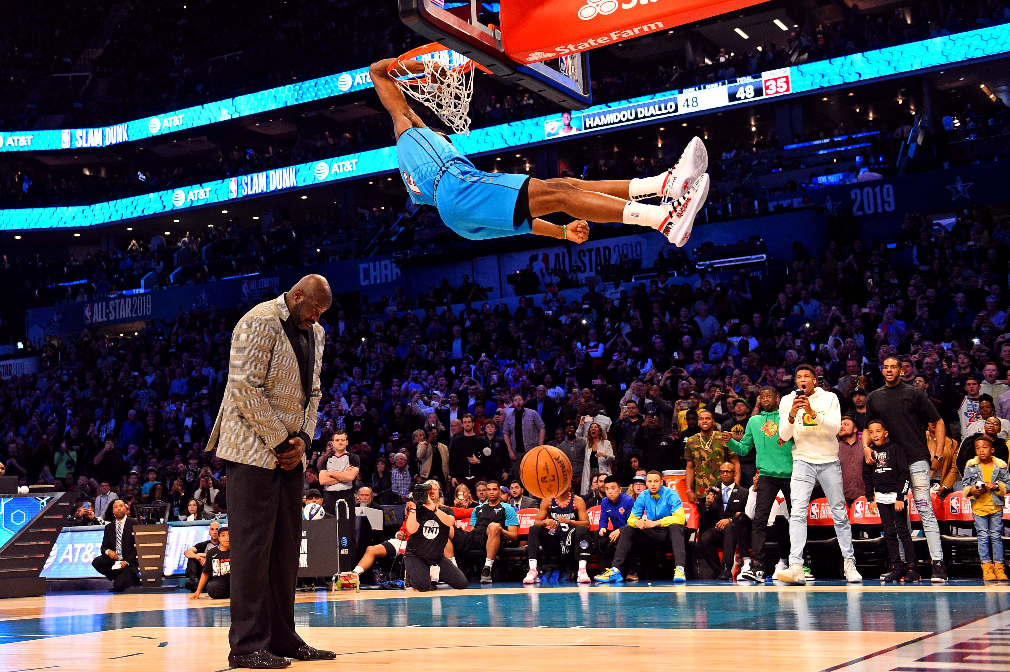 The 12 dunks in the 2019 Slam Dunk Contest, ranked