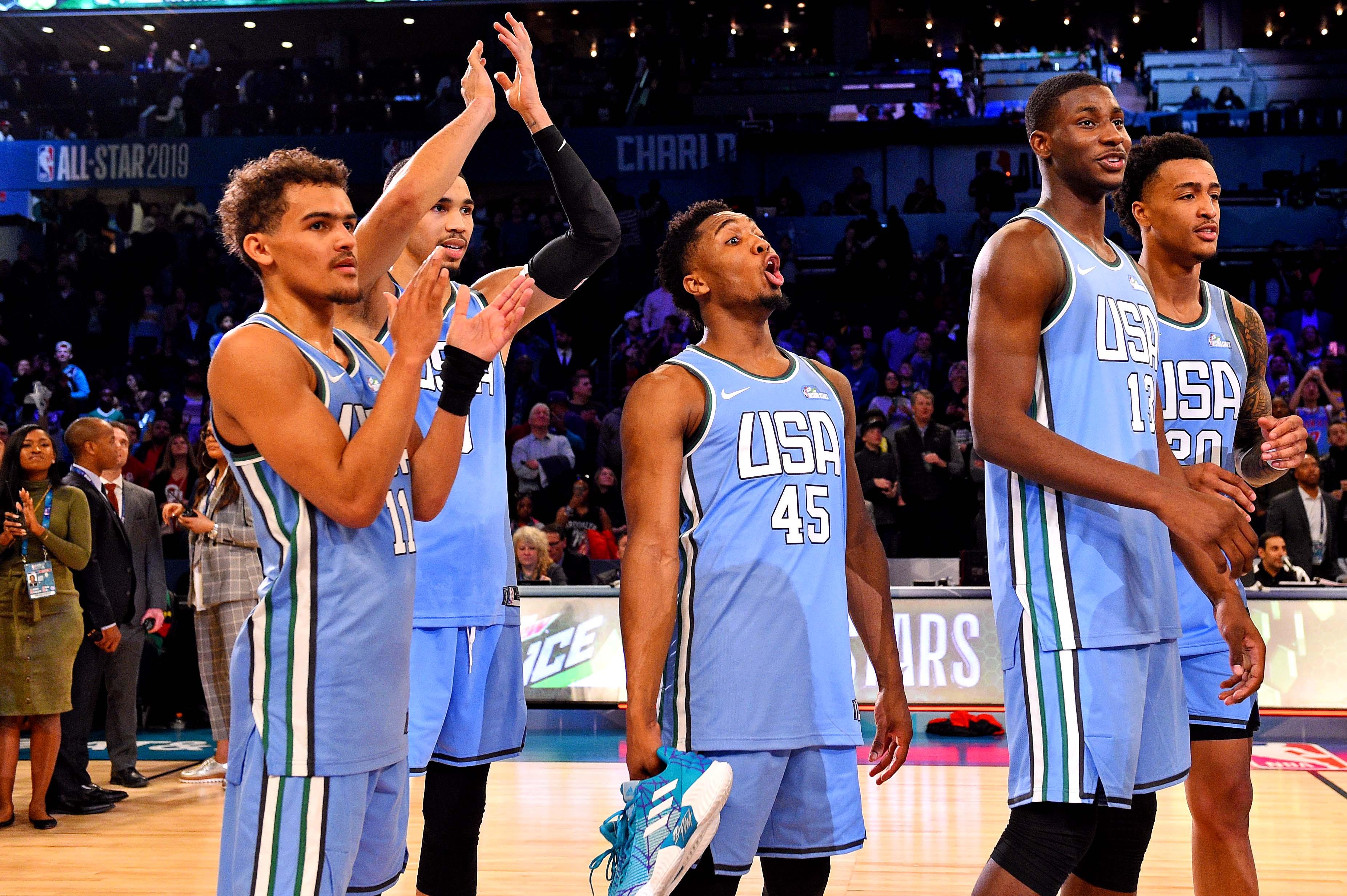 NBA: All Star-Rising Stars