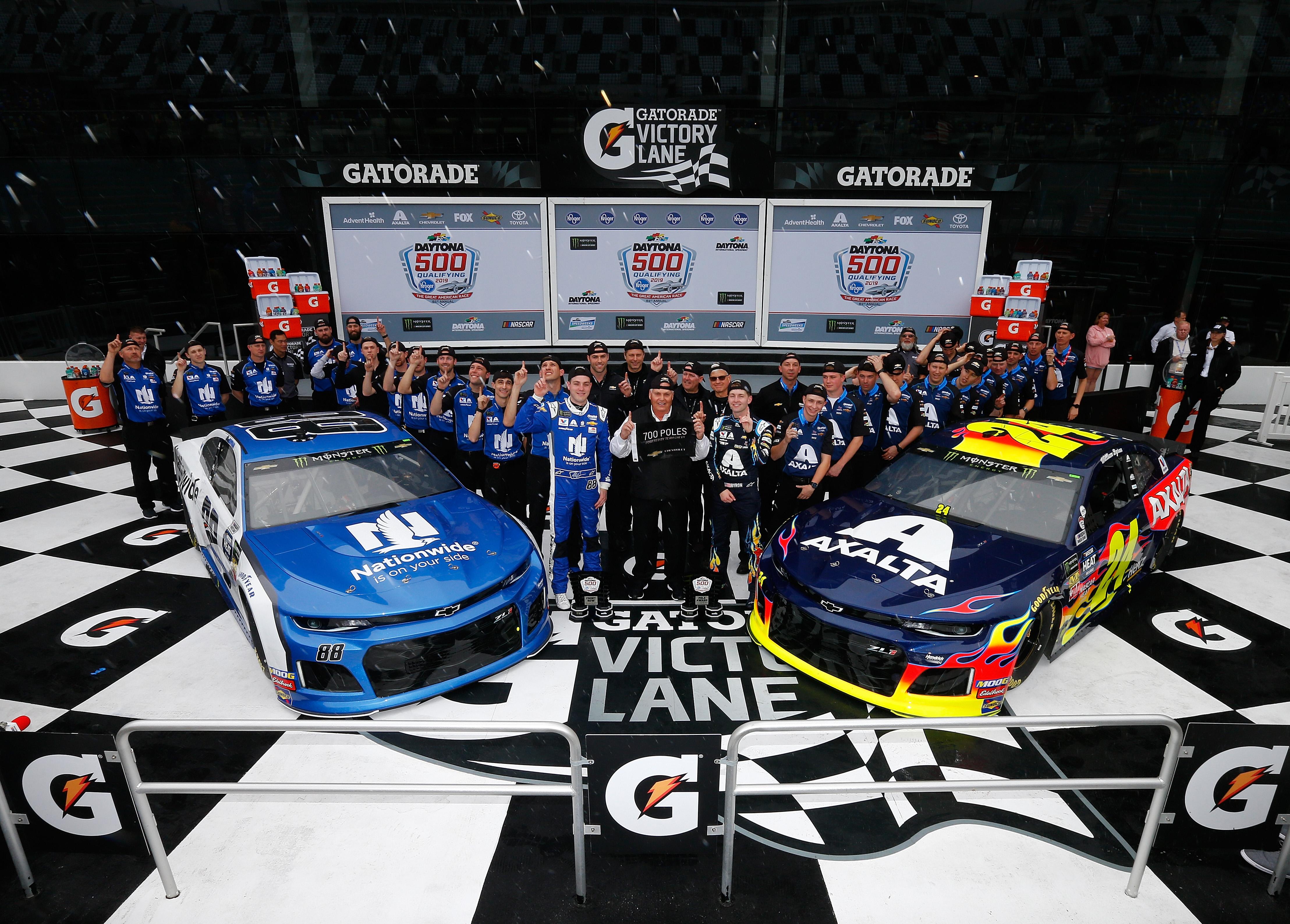 Monster Energy NASCAR Cup Series 61st Annual Daytona 500 - Qualifying
