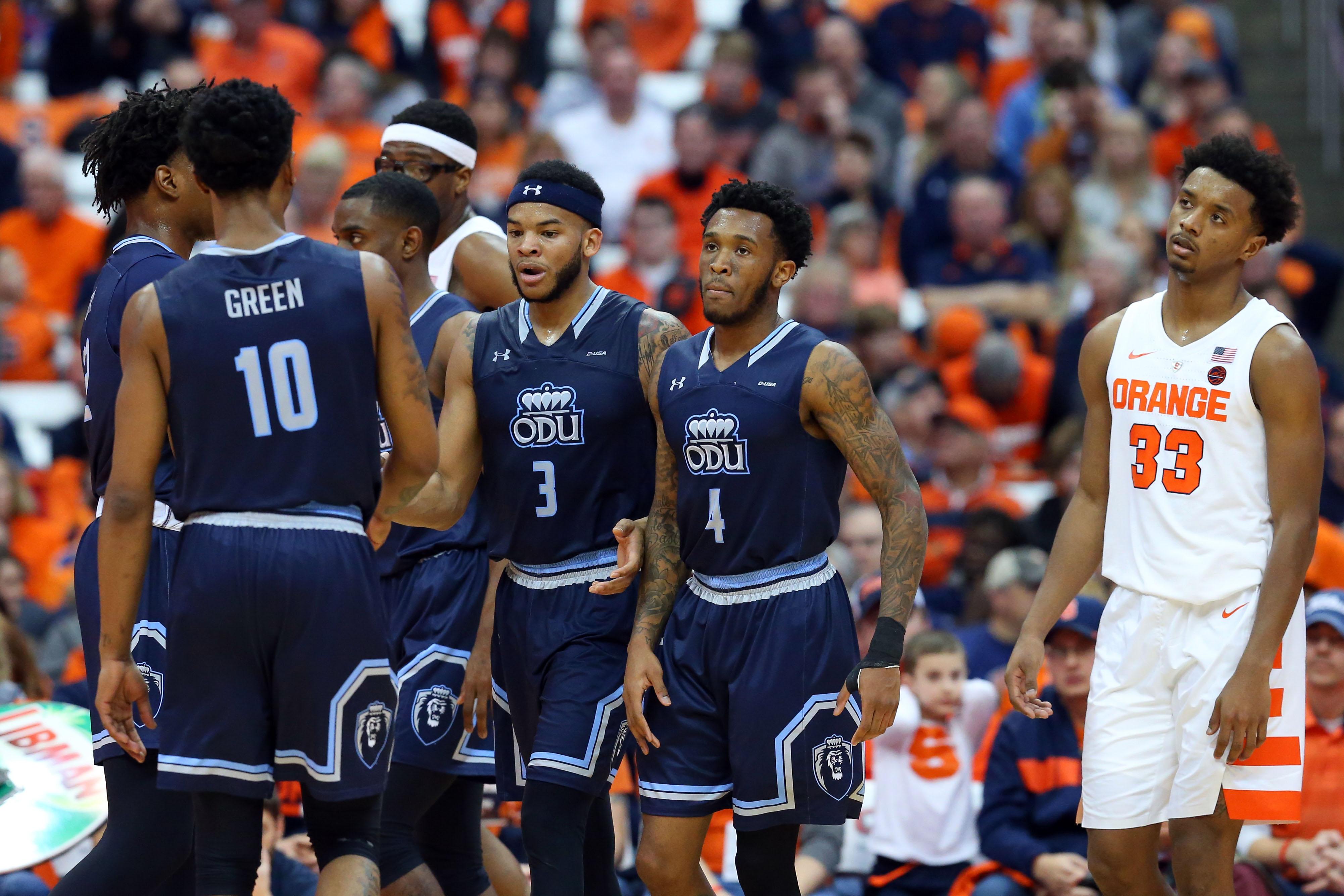 NCAA Basketball: Old Dominion at Syracuse