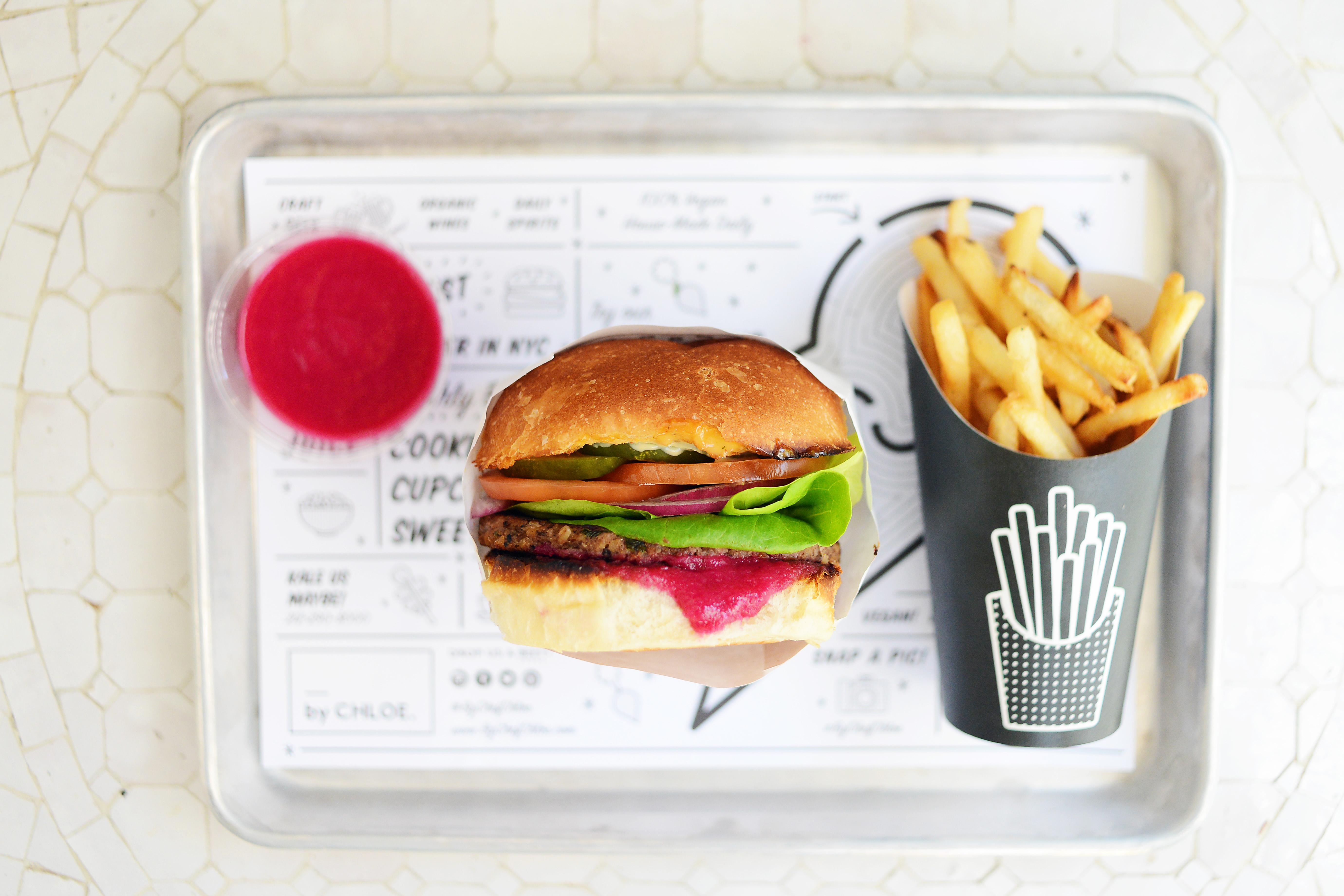 ByChloe's classic burger