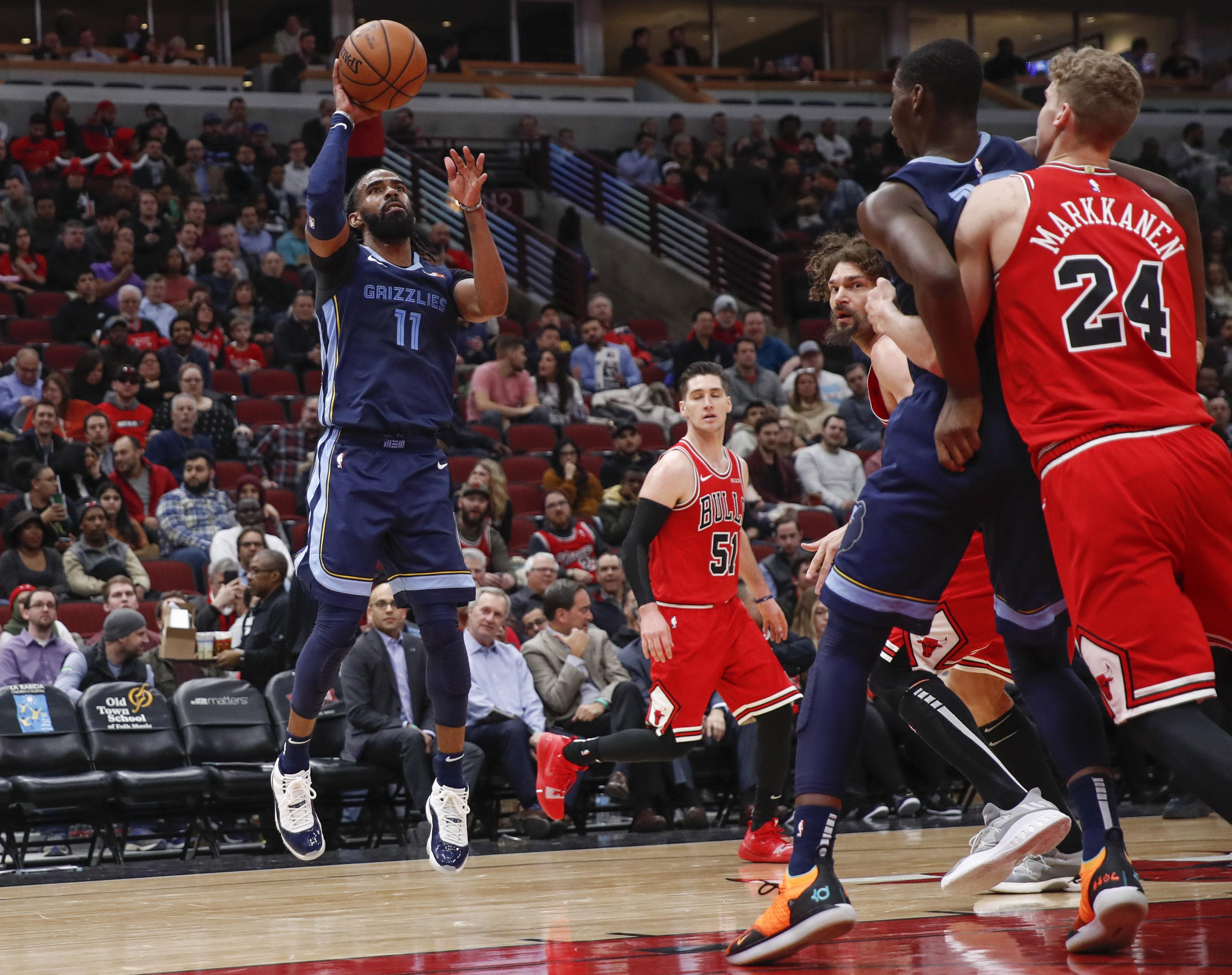 NBA: Memphis Grizzlies at Chicago Bulls