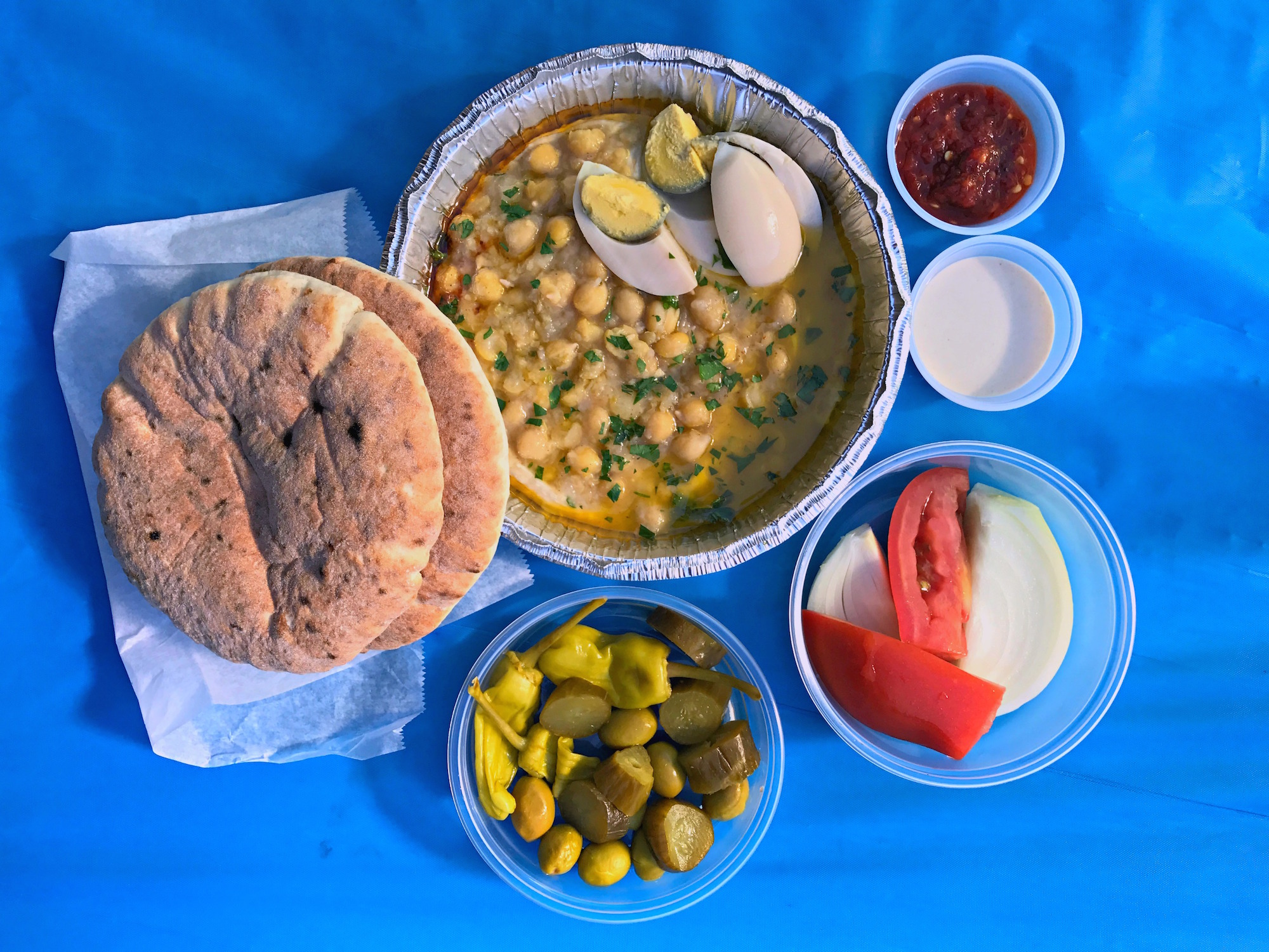 Fan Favorite Israeli Spot Hummus Yummy Lands a Valley Village Storefront