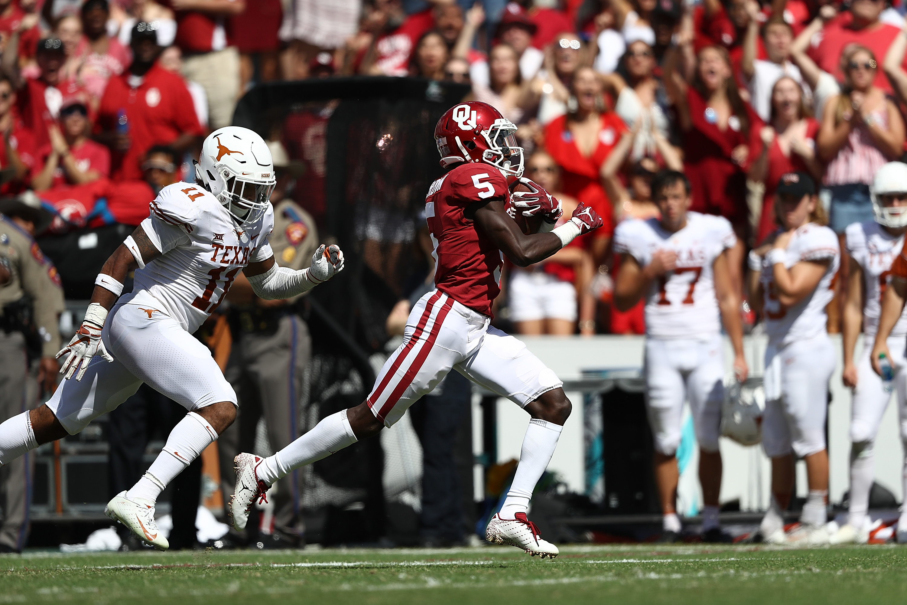 568fffb0bfd6a8 Crimson And Cream Machine Archives - Oklahoma Sooners Football - Page 4