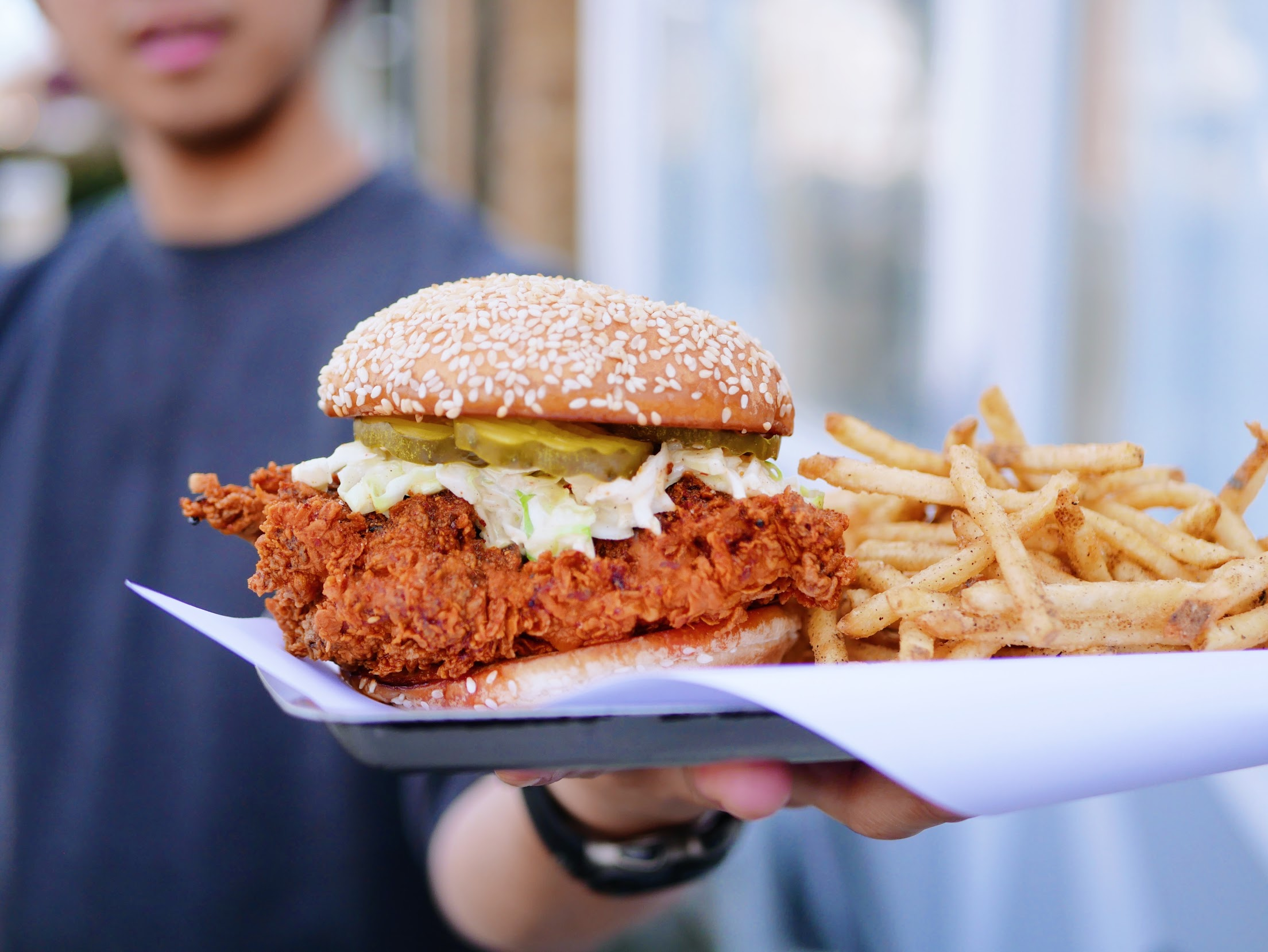 Himitsu's Chef Is Opening a Place for Spicy Chicken Sandwiches in Virginia