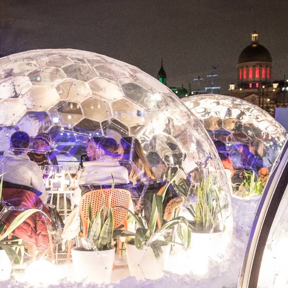 Bizarro Insta-Thirsty 'Dinner in a Dome' Pop-Up Is Coming to Montreal