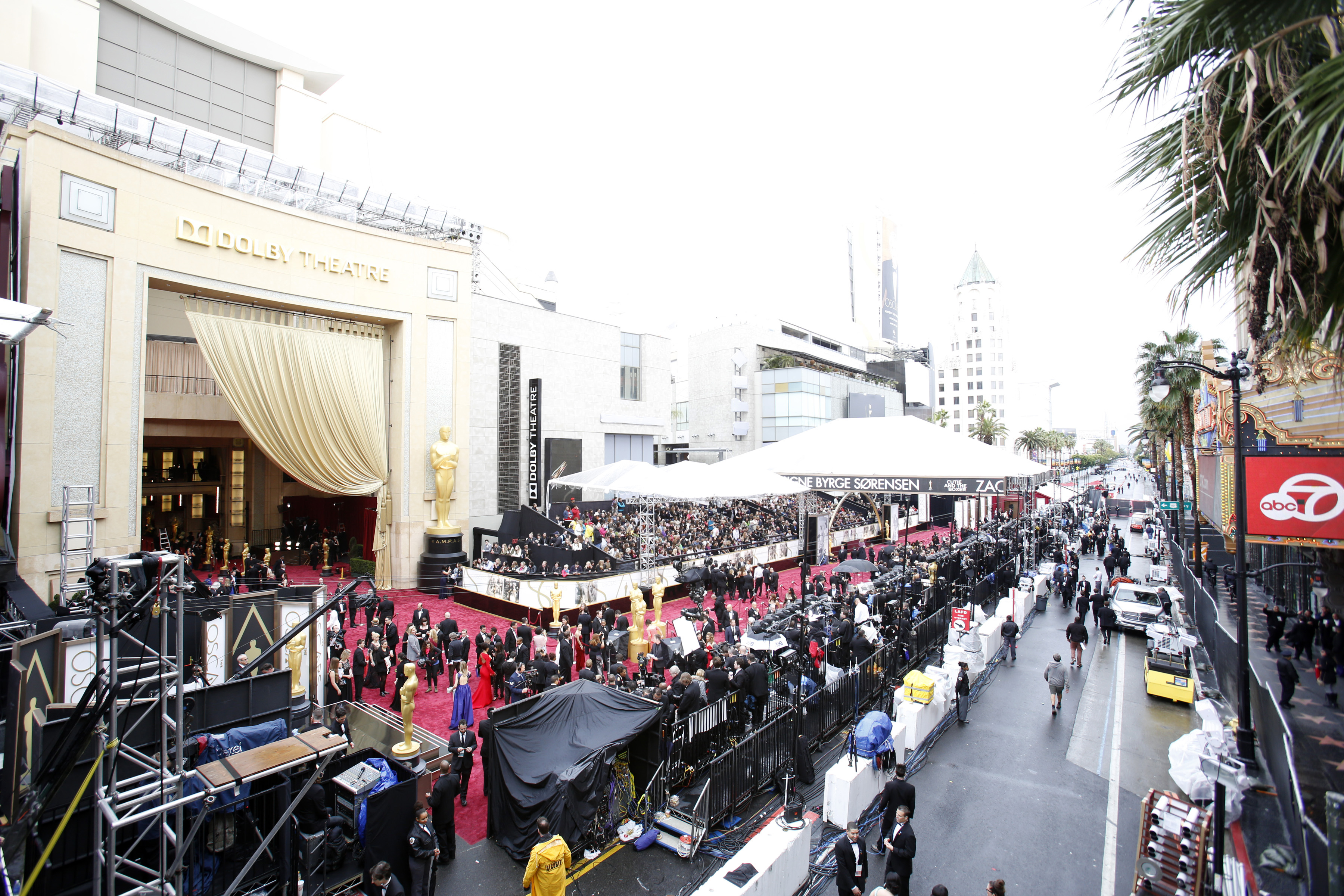 Here are the street closures for the 2019 Academy Awards