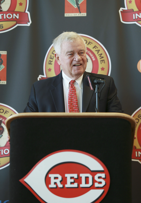 Cincinnati Reds Hall of Fame News Conference