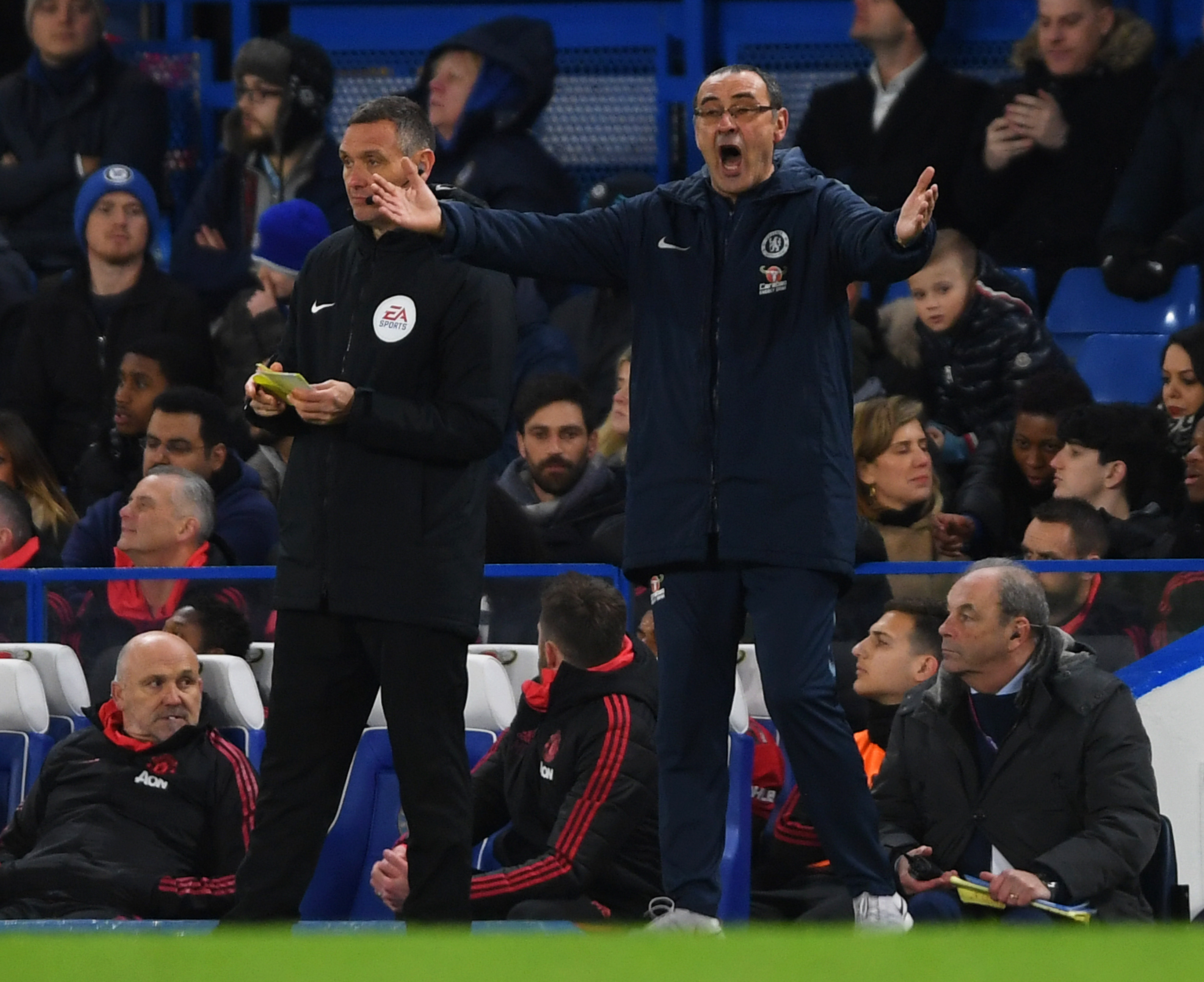 Sarri still clueless about what's going wrong at Chelsea