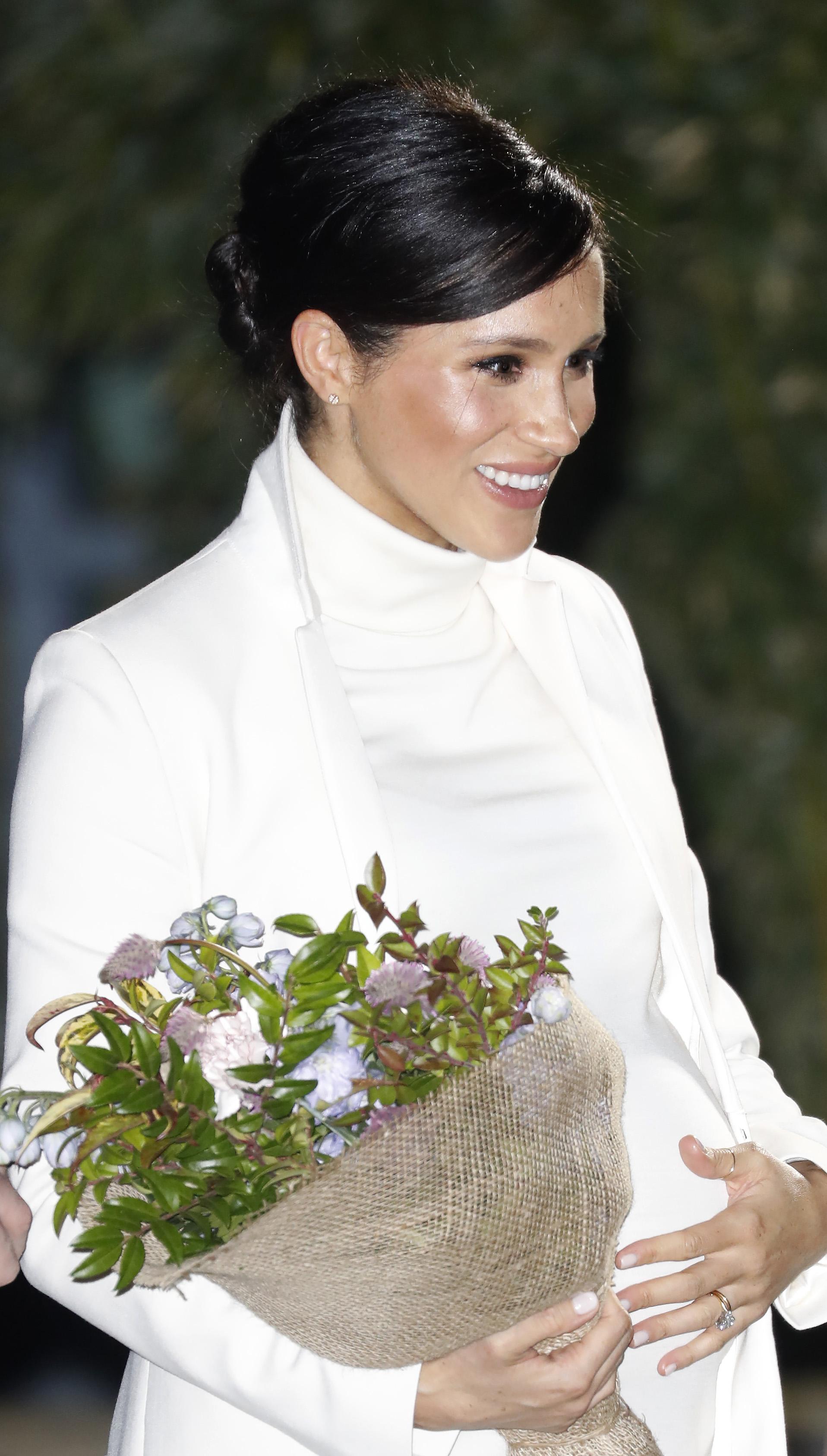 Duchess Meghan Markle Hit Up Laduree in New York Last Weekend