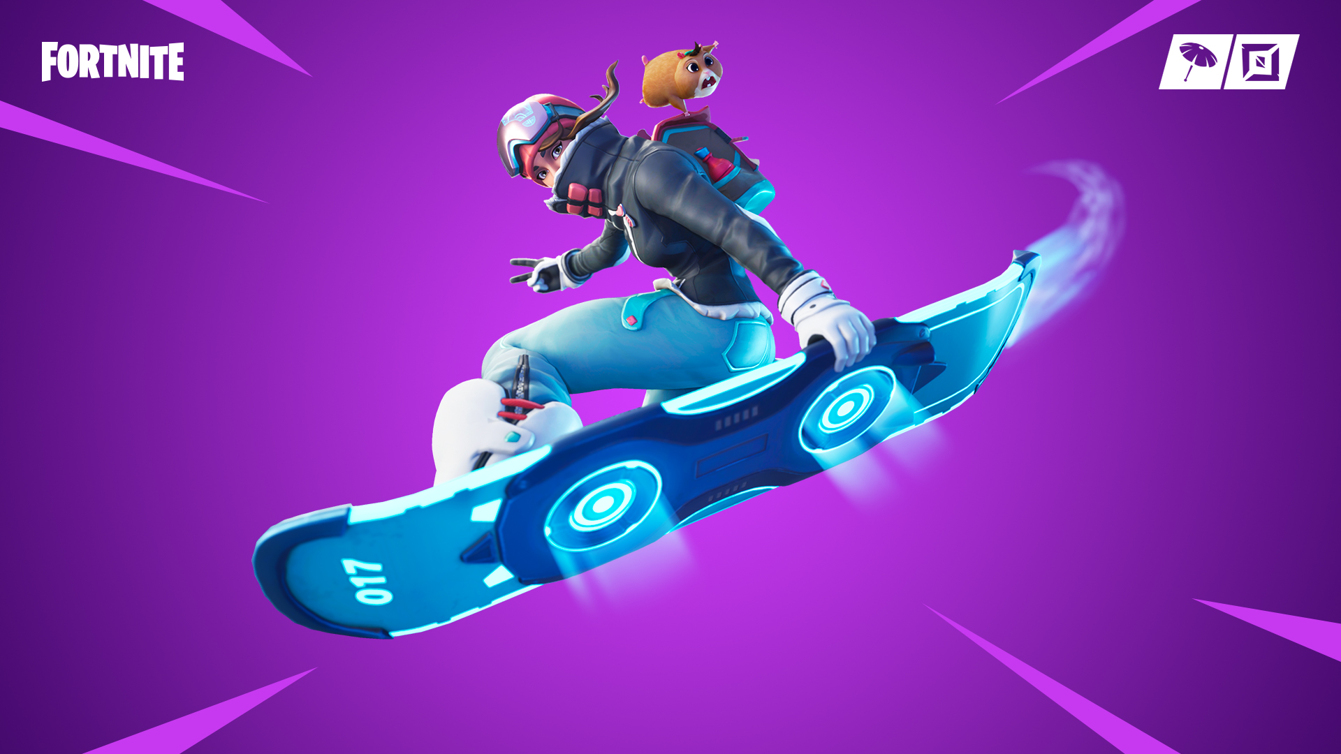 Fortnite's latest patch introduces a hoverboard