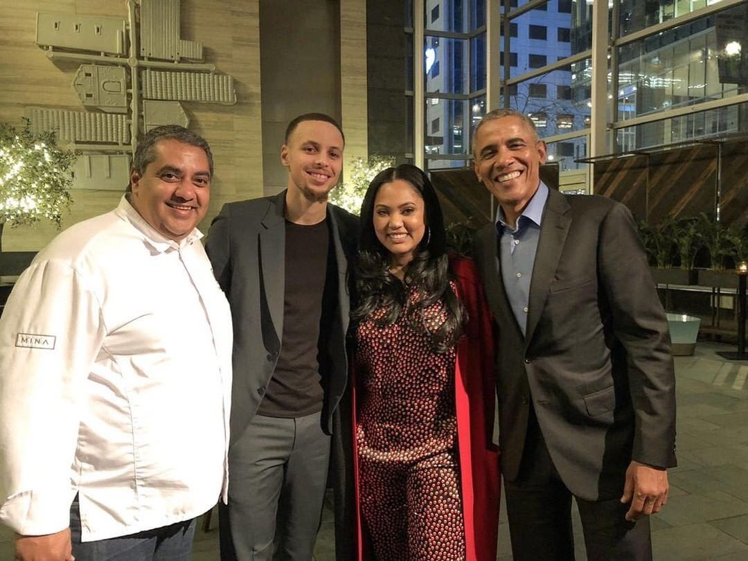 Barack Obama Dined at Ayesha Curry's SF Restaurant on Presidents' Day
