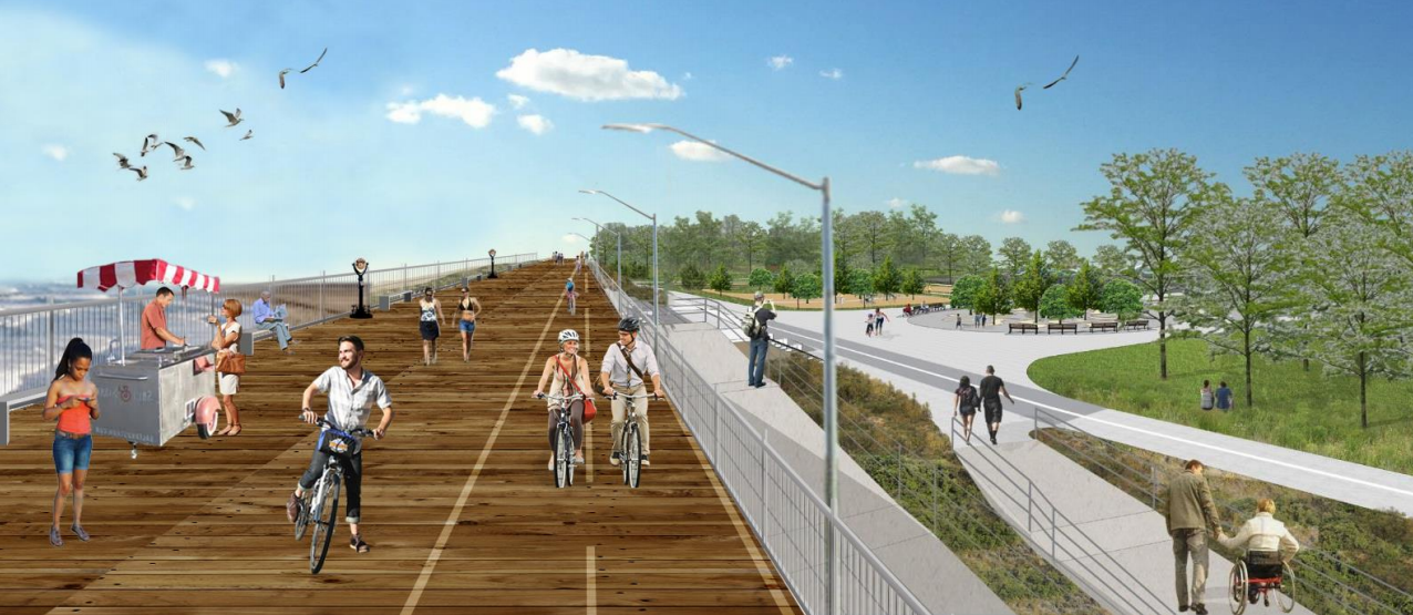 Staten Island's five-mile seawall will move forward with federal funding