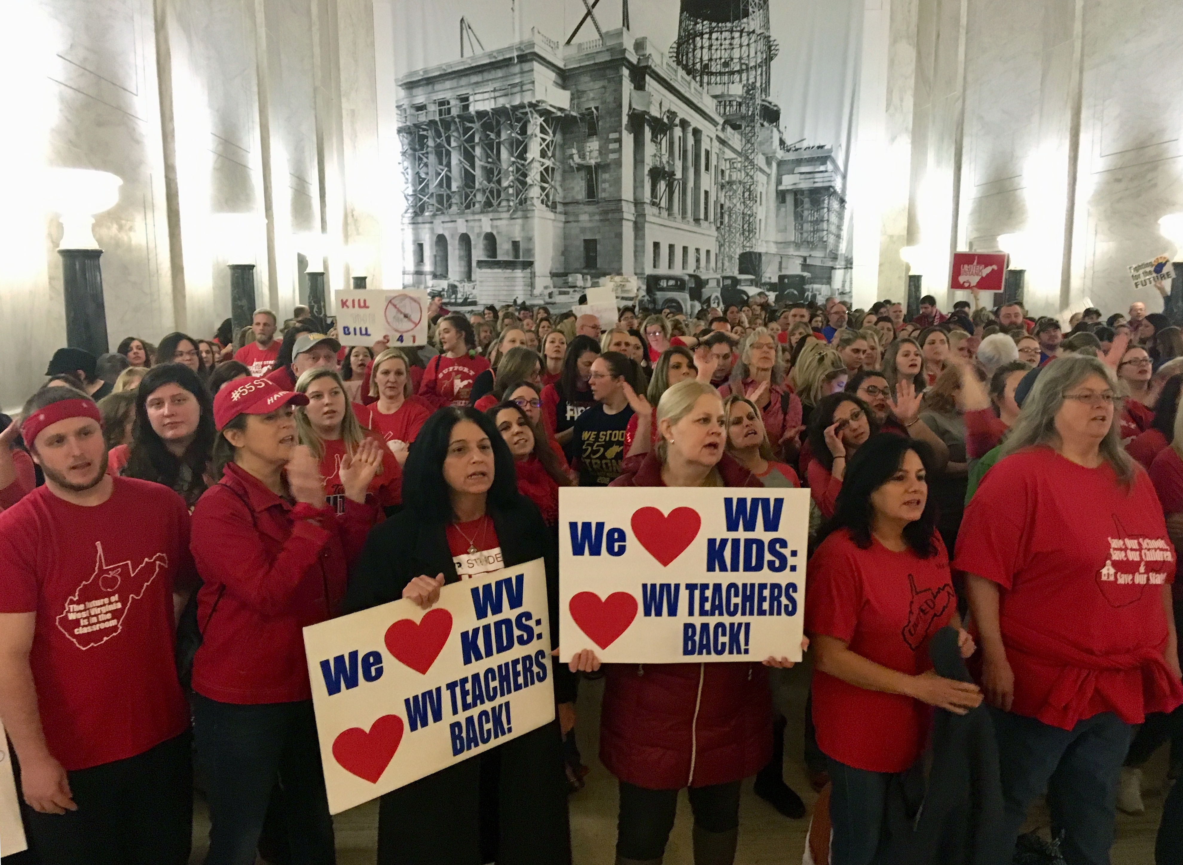 West Virginia teachers are on strike again. Here's why.