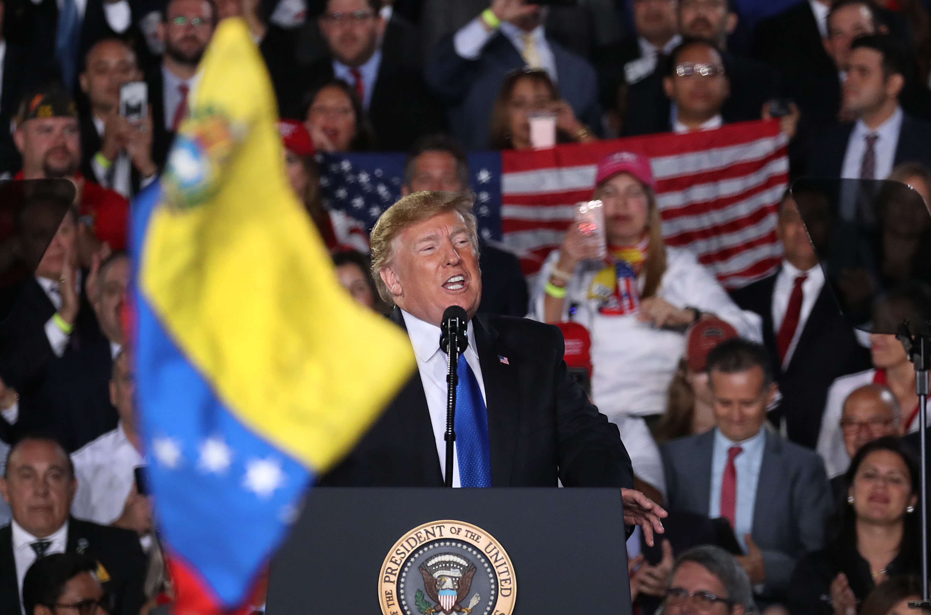 Trump is exploiting the Venezuela crisis in order to win the 2020 presidential election
