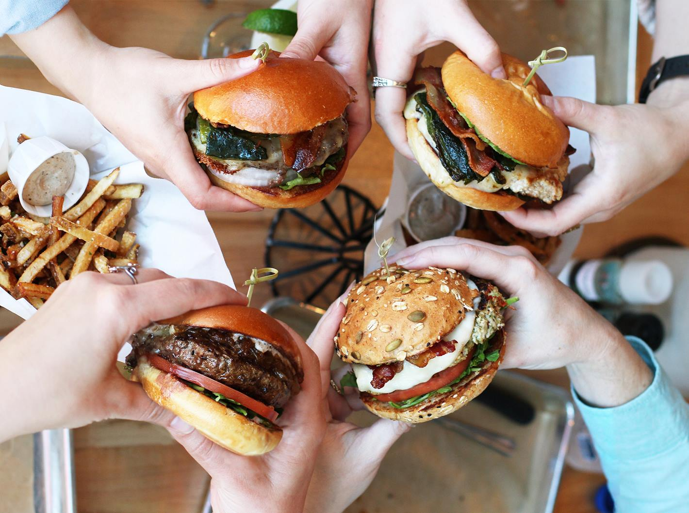 Burgers from Hopdoddy