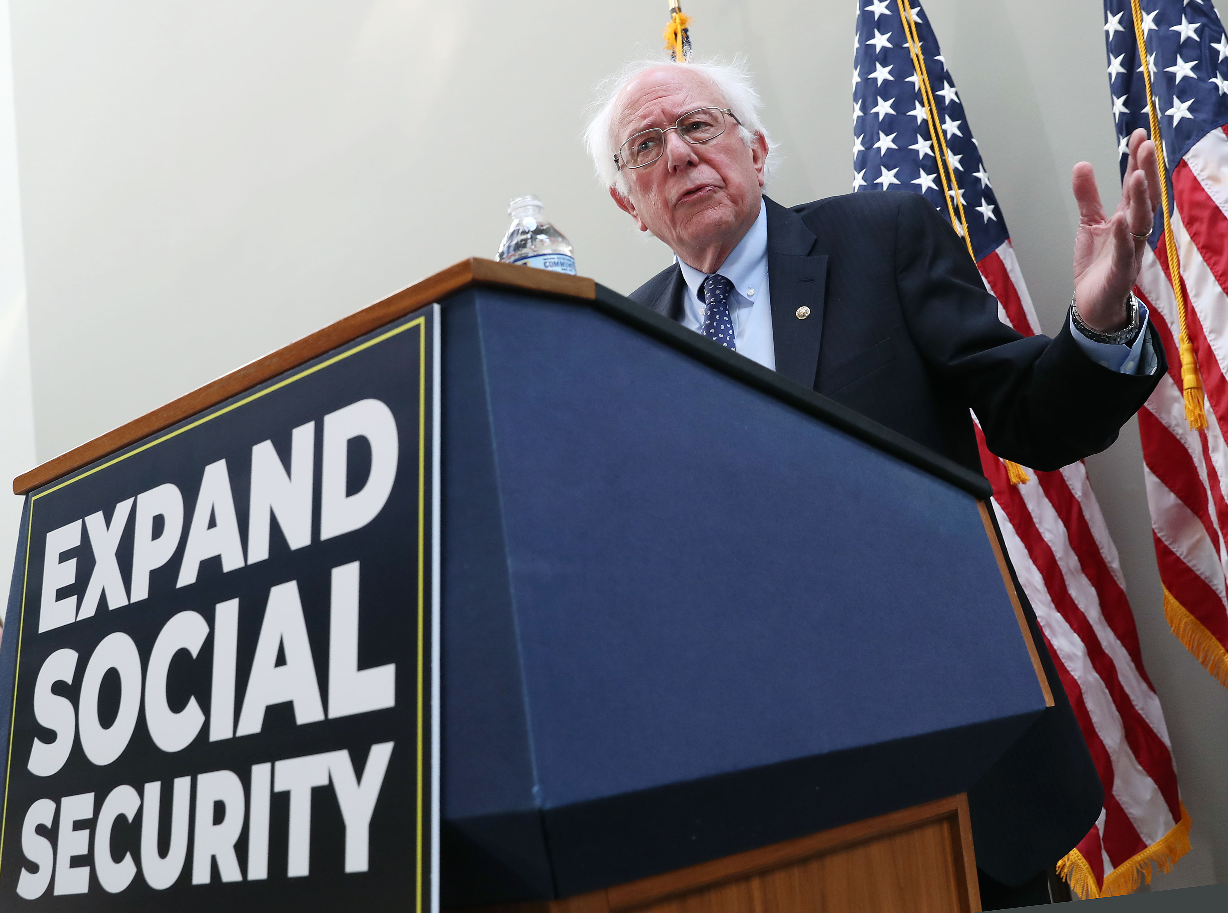 Sen. Sanders (I-VT) And Rep. Peter DeFazio (D-OR) Announce Legislation To Expand Social Security