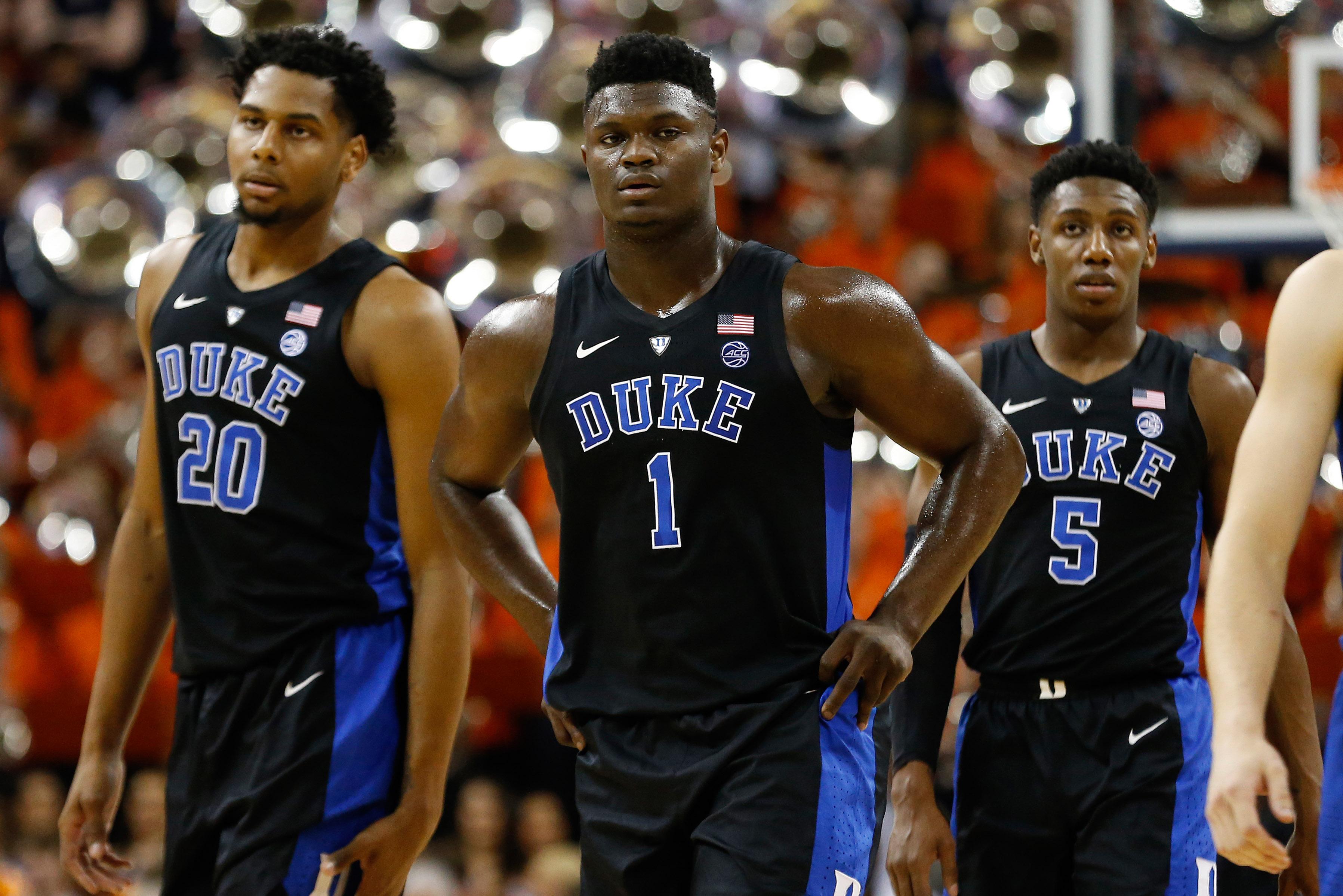 Duke betting favorite hosting UNC on Wednesday odds board
