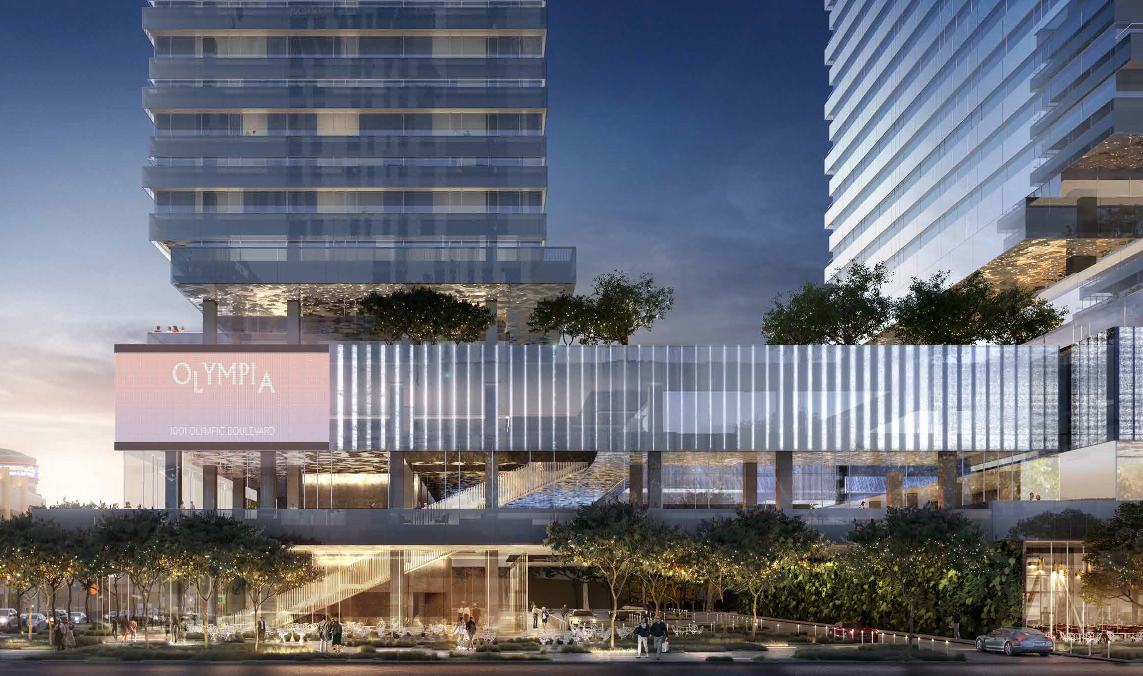 Tri-towered DTLA megadevelopment clears commission—but not