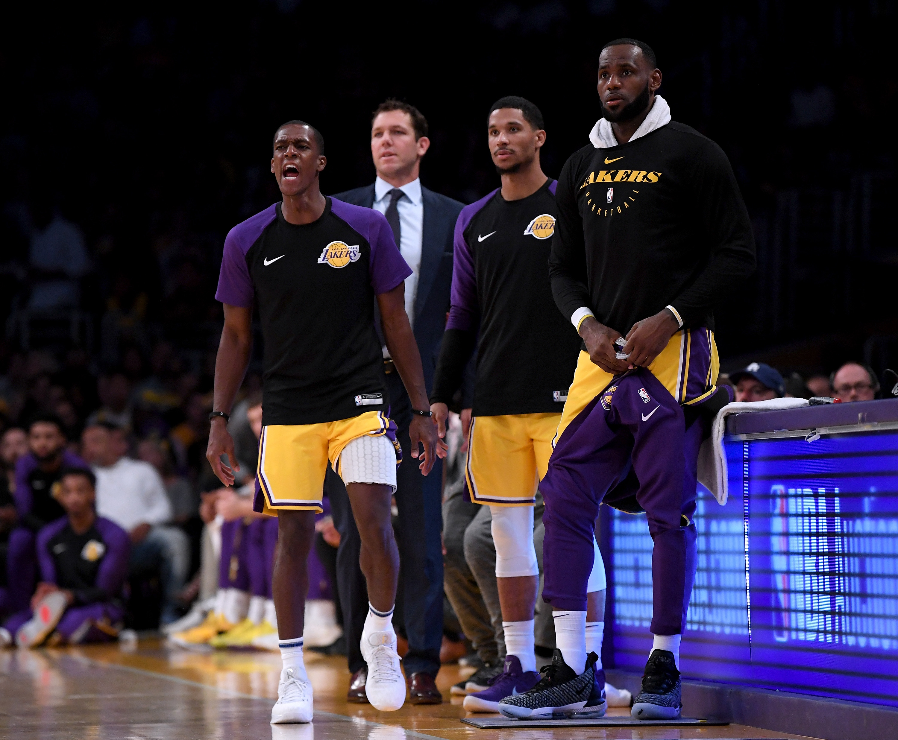 ffac7dde46a Josh Hart says the Lakers can t save anything for the playoffs