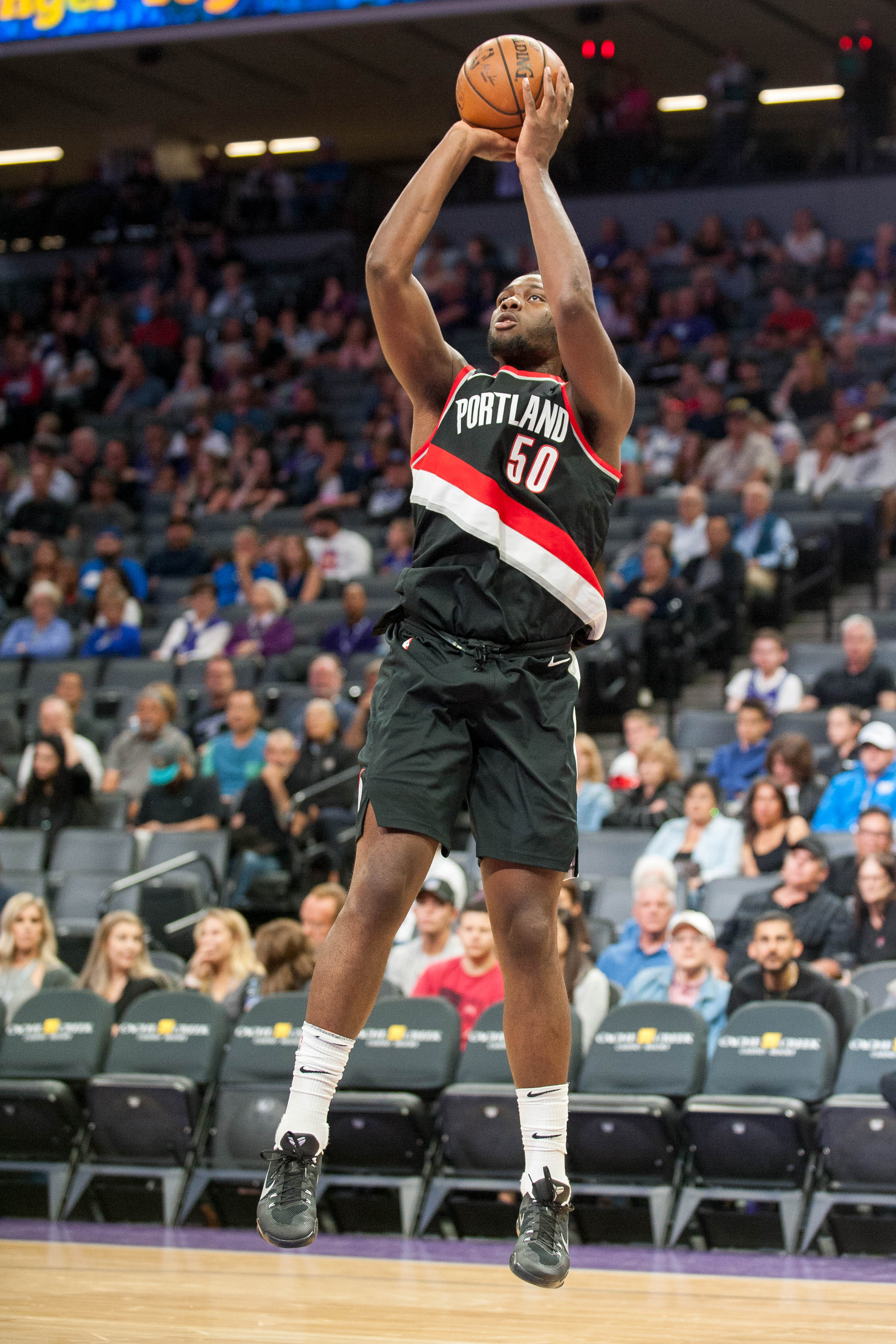 NBA: Preseason-Portland Trail Blazers at Sacramento Kings