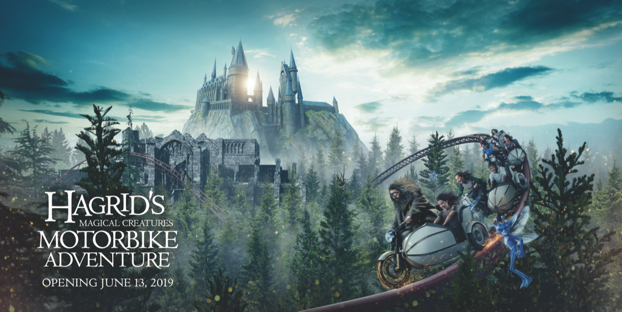 The Wizarding World of Harry Potter gets a new Hagrid-themed ride