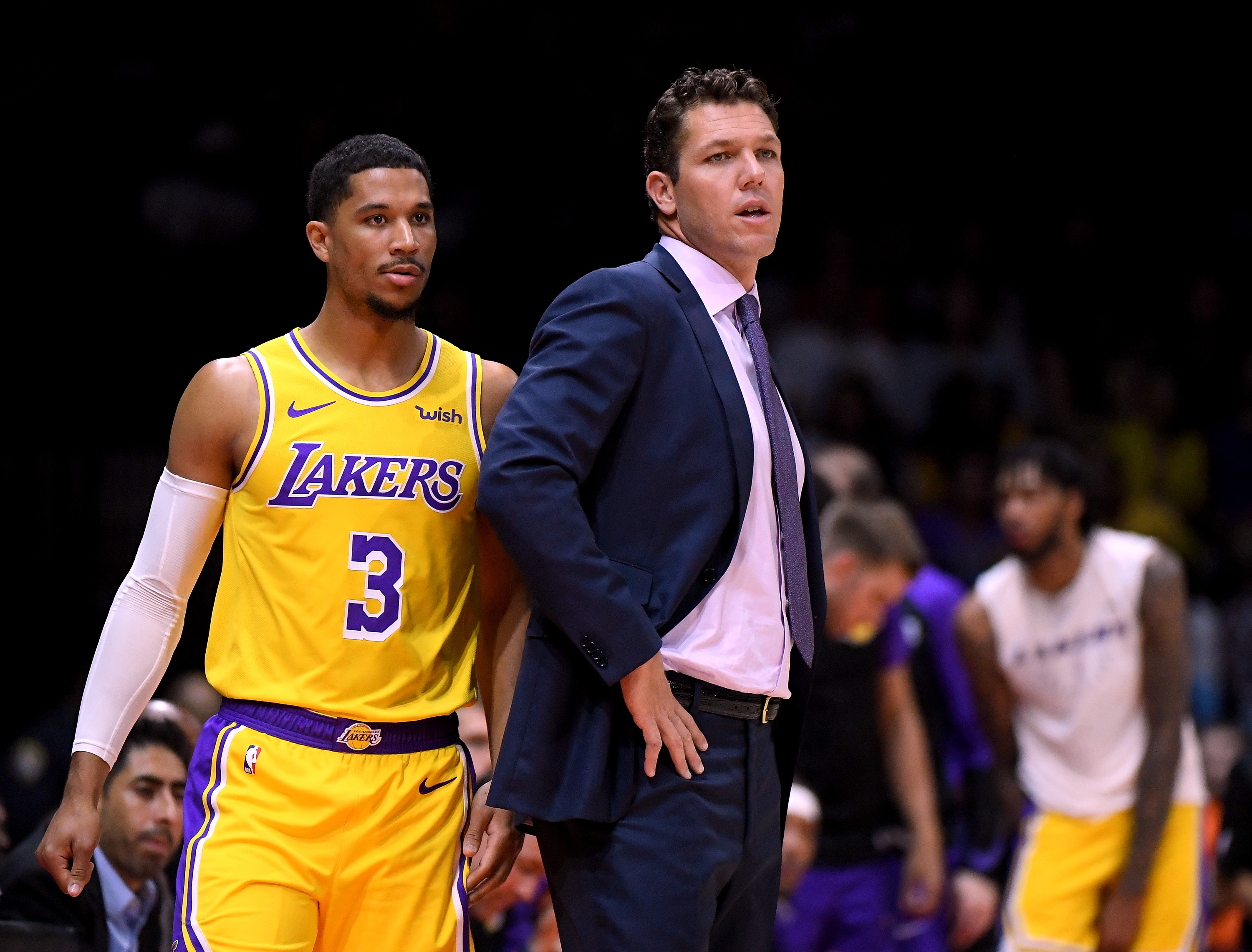 ee8306373 Luke Walton and Josh Hart believe injuries and fatigue have played a role  in the Lakers  defensive drop-off