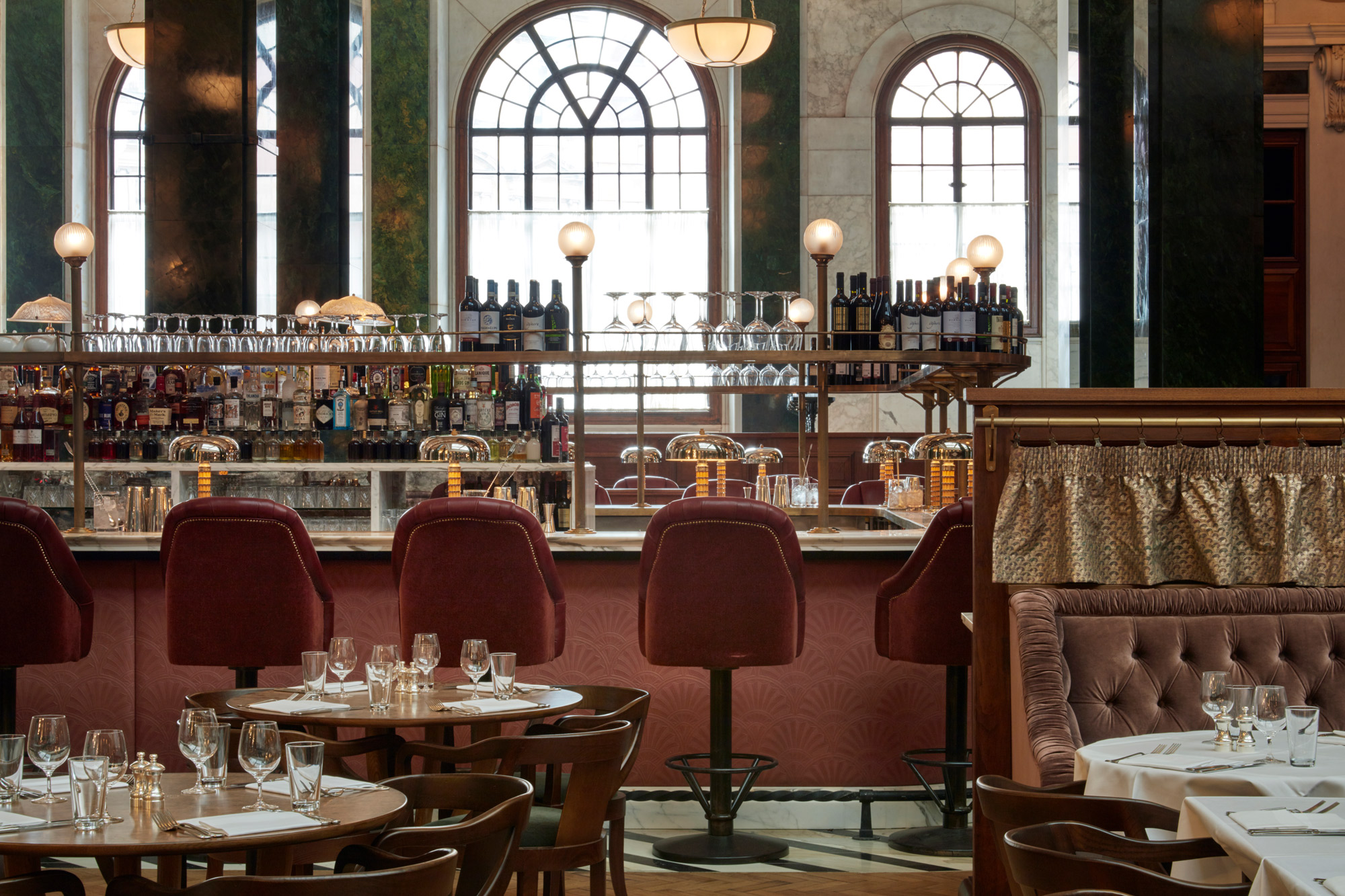 The Brit Awards 2019 brought music artists and winners to The Ned restaurants in Bank, City of London