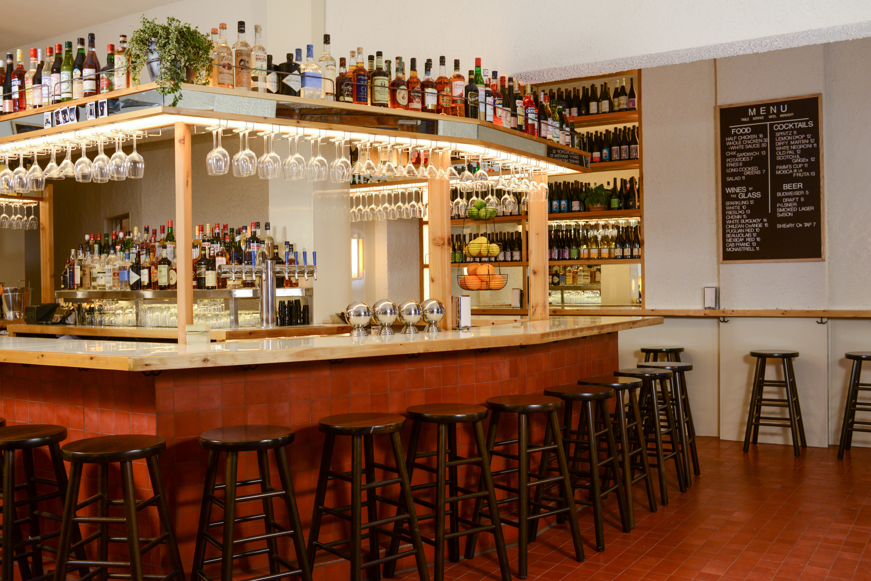 Bed-Stuy's Promising New Chicken and Natural Wine Restaurant Opens Tonight
