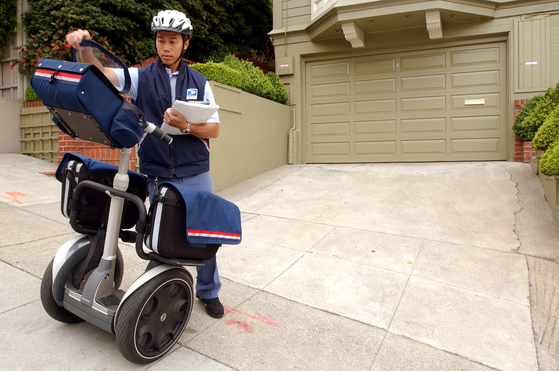 US Postal Service Tests Segway