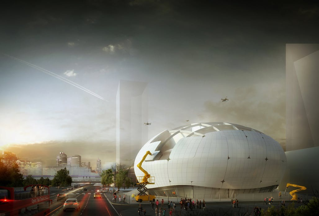 Planned robot science museum will be built by robots, obviously