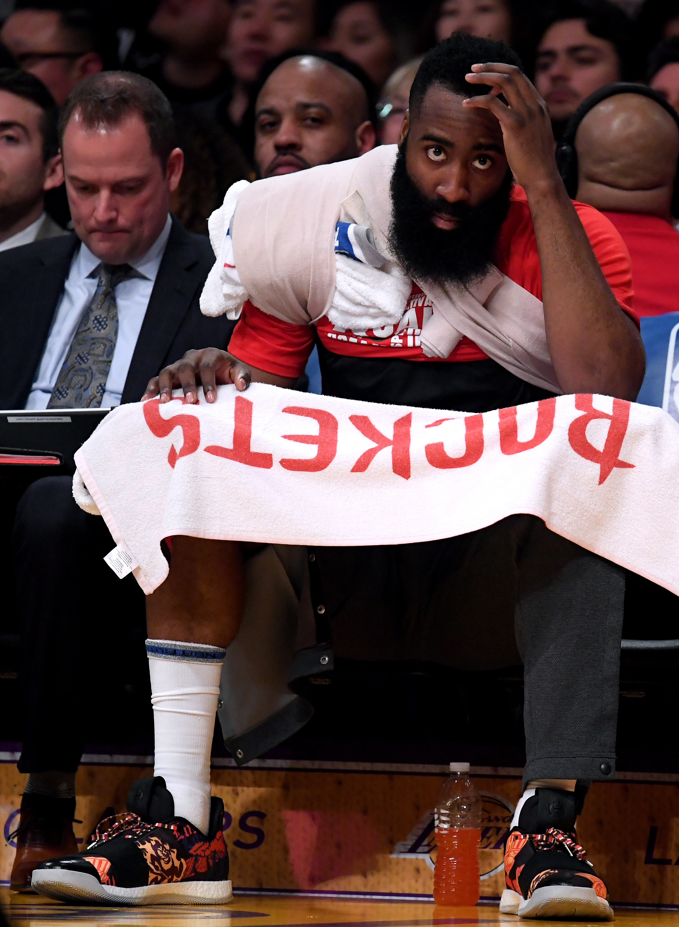 James Harden blasts referee Scott Foster after loss to Lakers, says he shouldn't officiate Rockets games