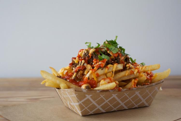 Chi'lantro's kimchi fries