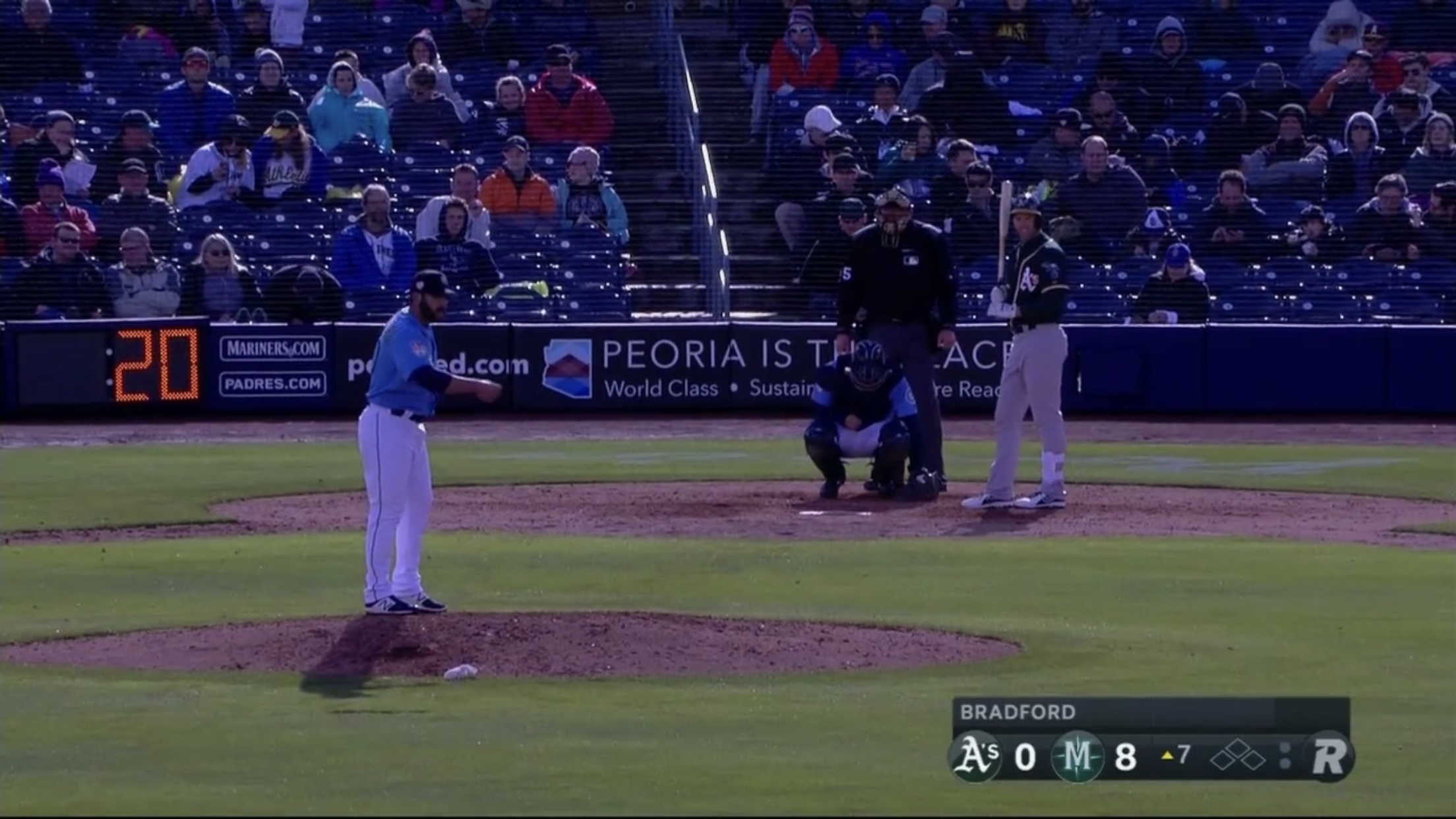 MLB is testing pitch clock in spring training, hoping to add it for the 2019 regular season