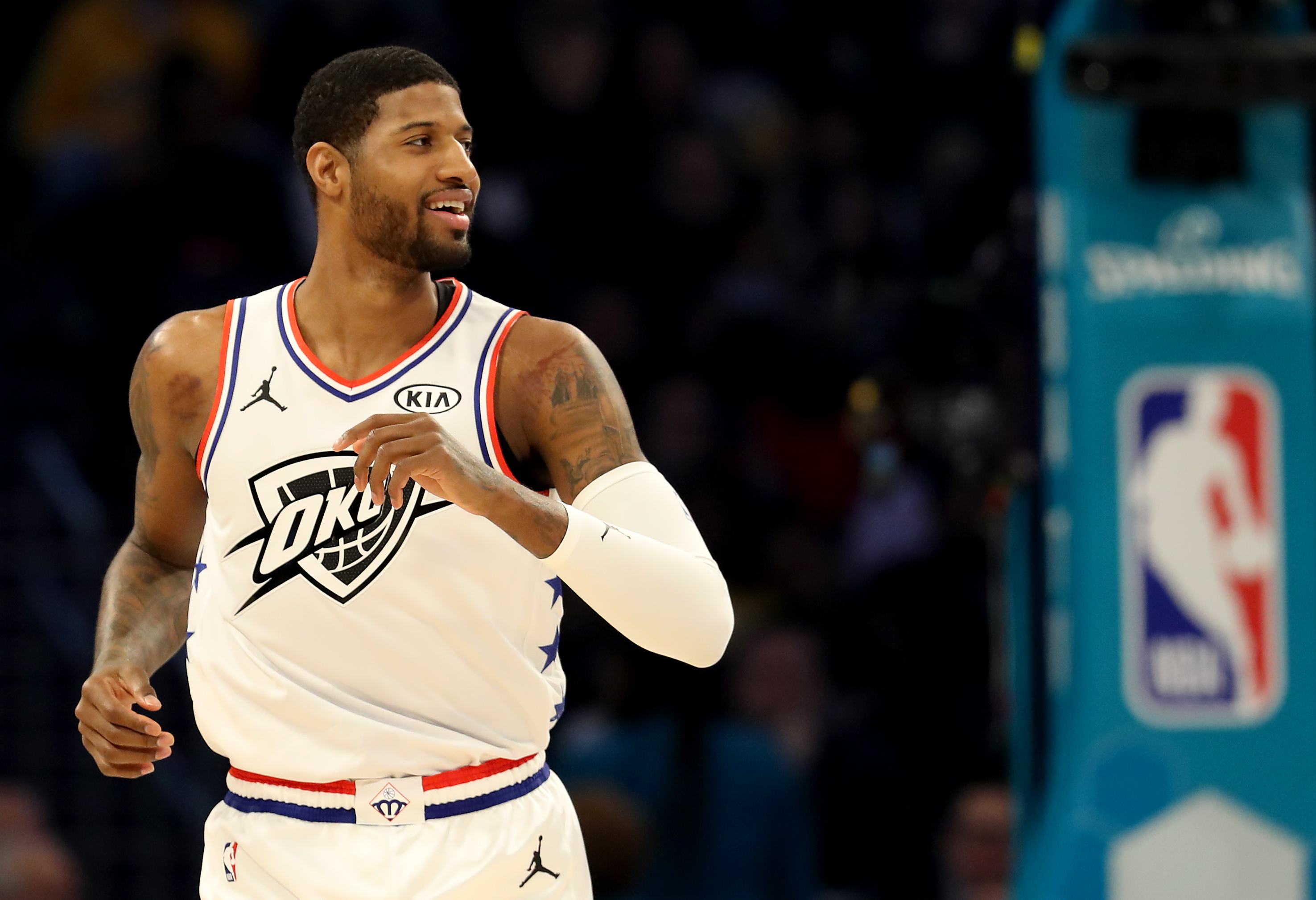 Paul George's clutch shooting makes you forget about his past struggles