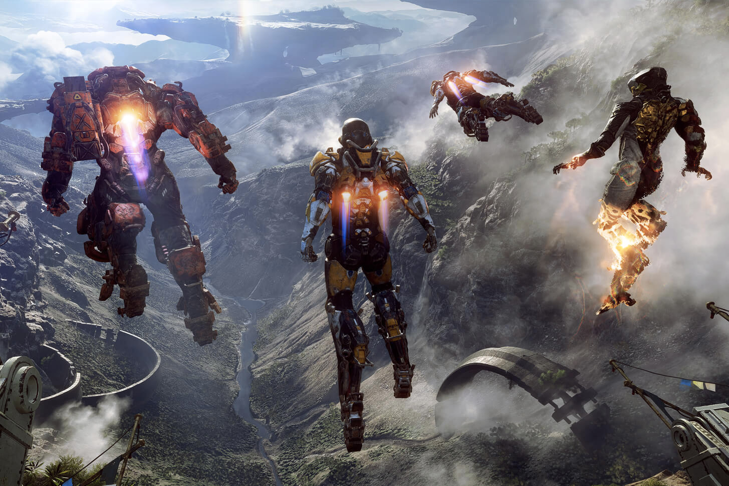 BioWare spreads out Anthem's 90-day roadmap
