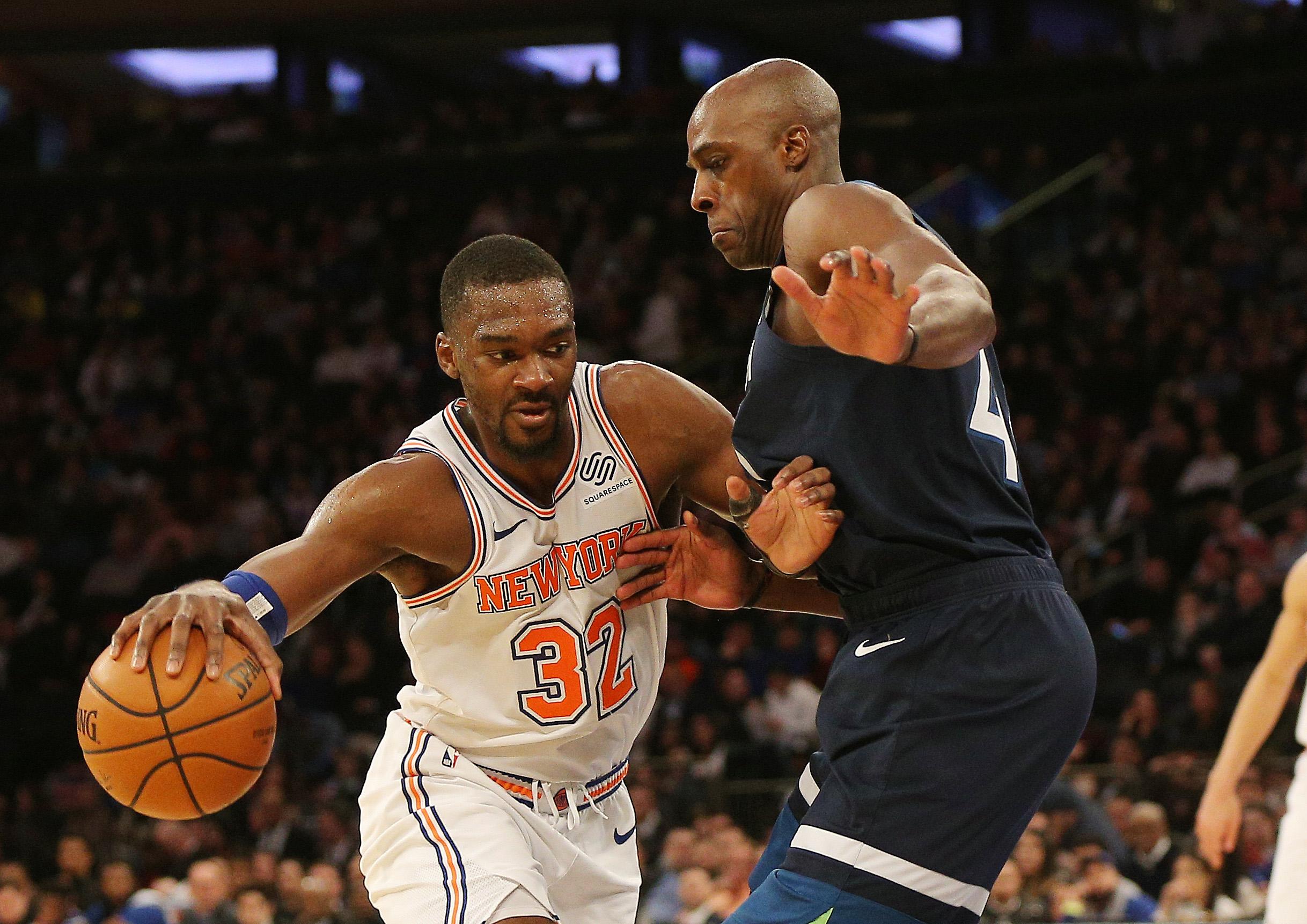 NBA: Minnesota Timberwolves at New York Knicks